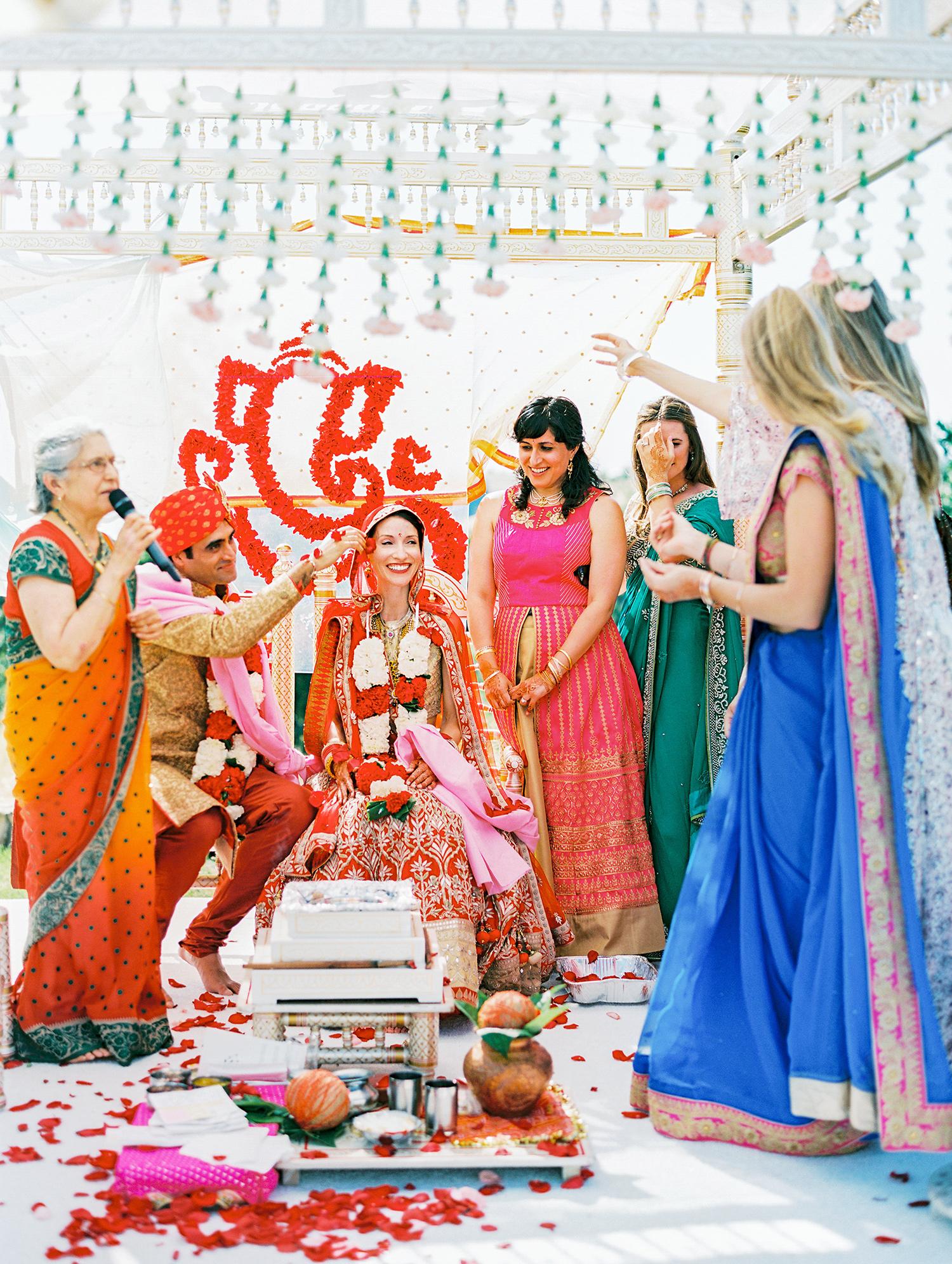 caitlin amit indian wedding ceremony