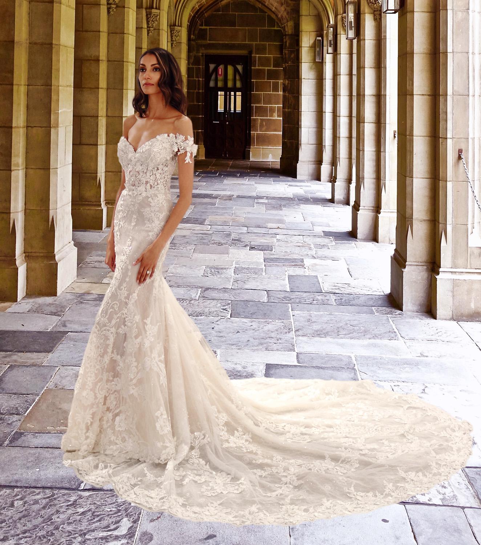 Eve of Milady wedding dress spring 2019 sweetheart embellished bodice mermaid