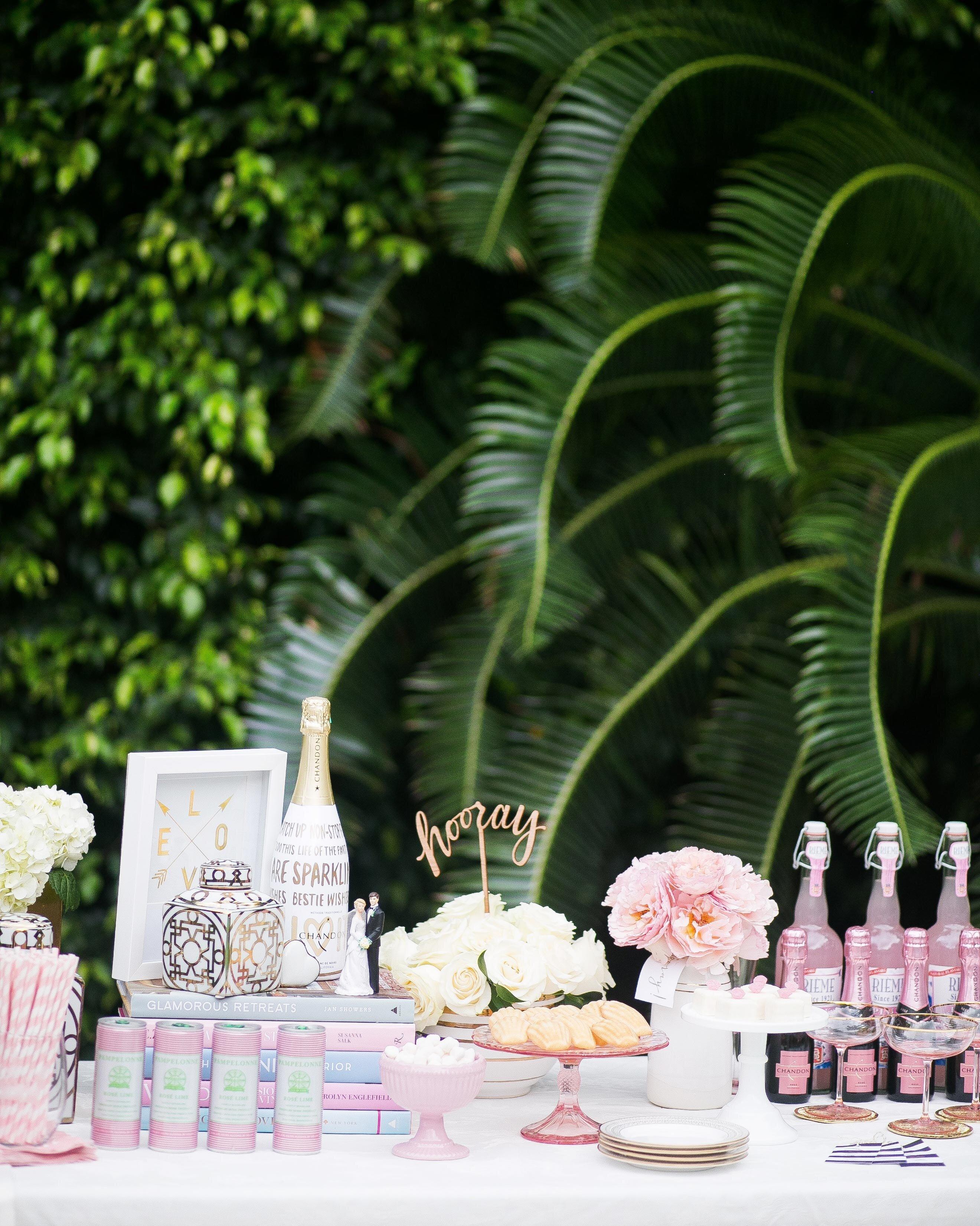 How To Throw A Backyard Bridal Shower Martha Weddings