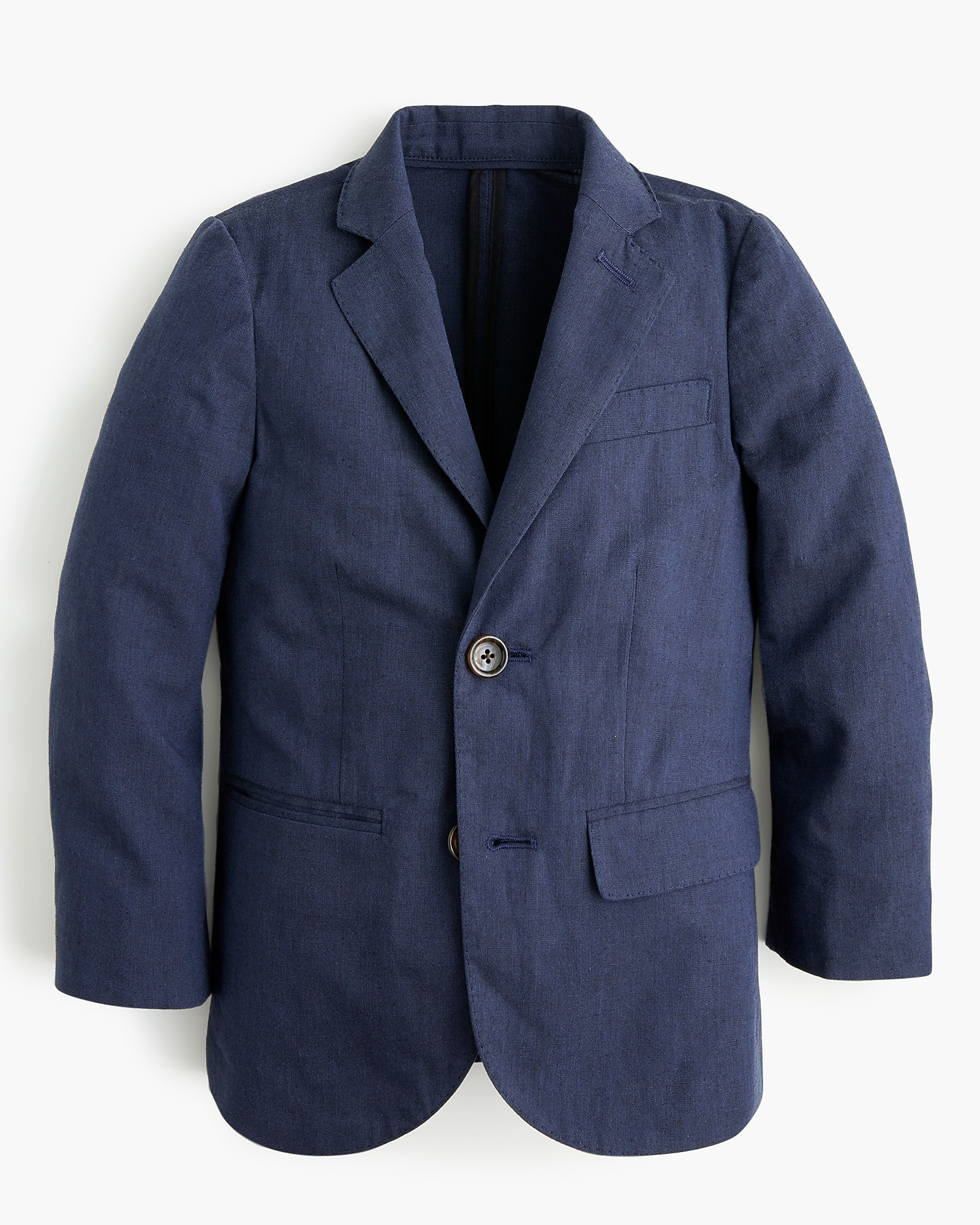 "J. Crew Unstructured ""Ludlow"" Suit Jacket in Cotton"