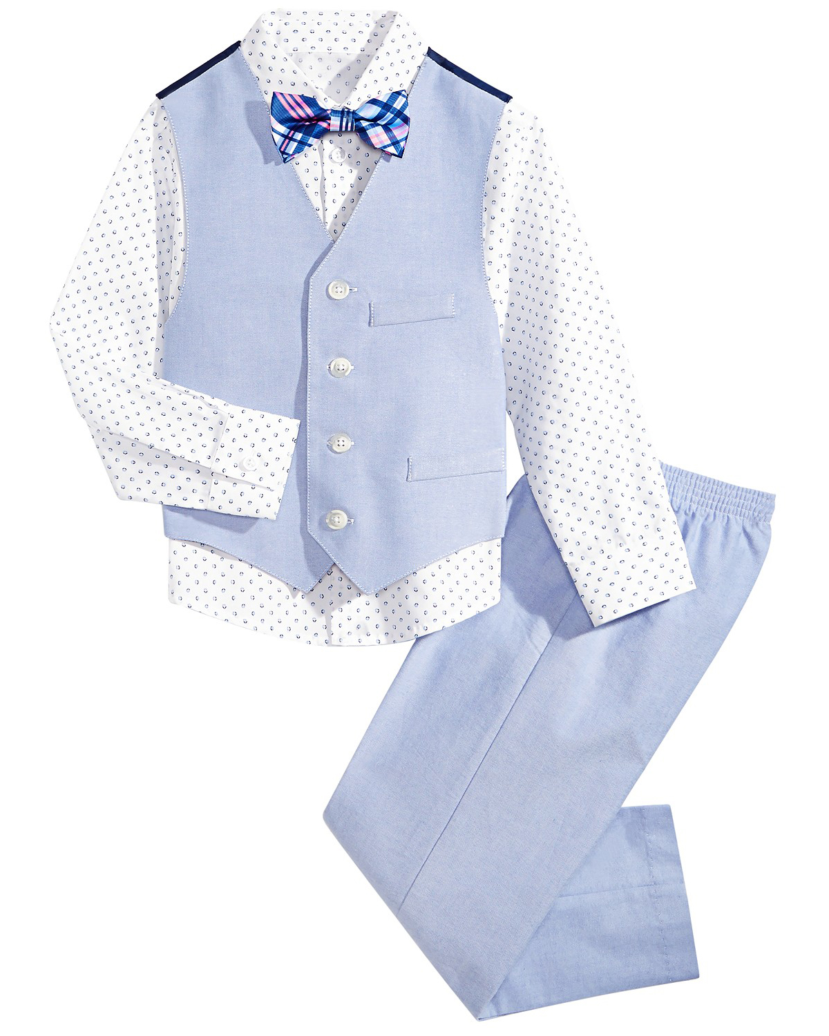 Nautica Diamond Oxford Vest Set