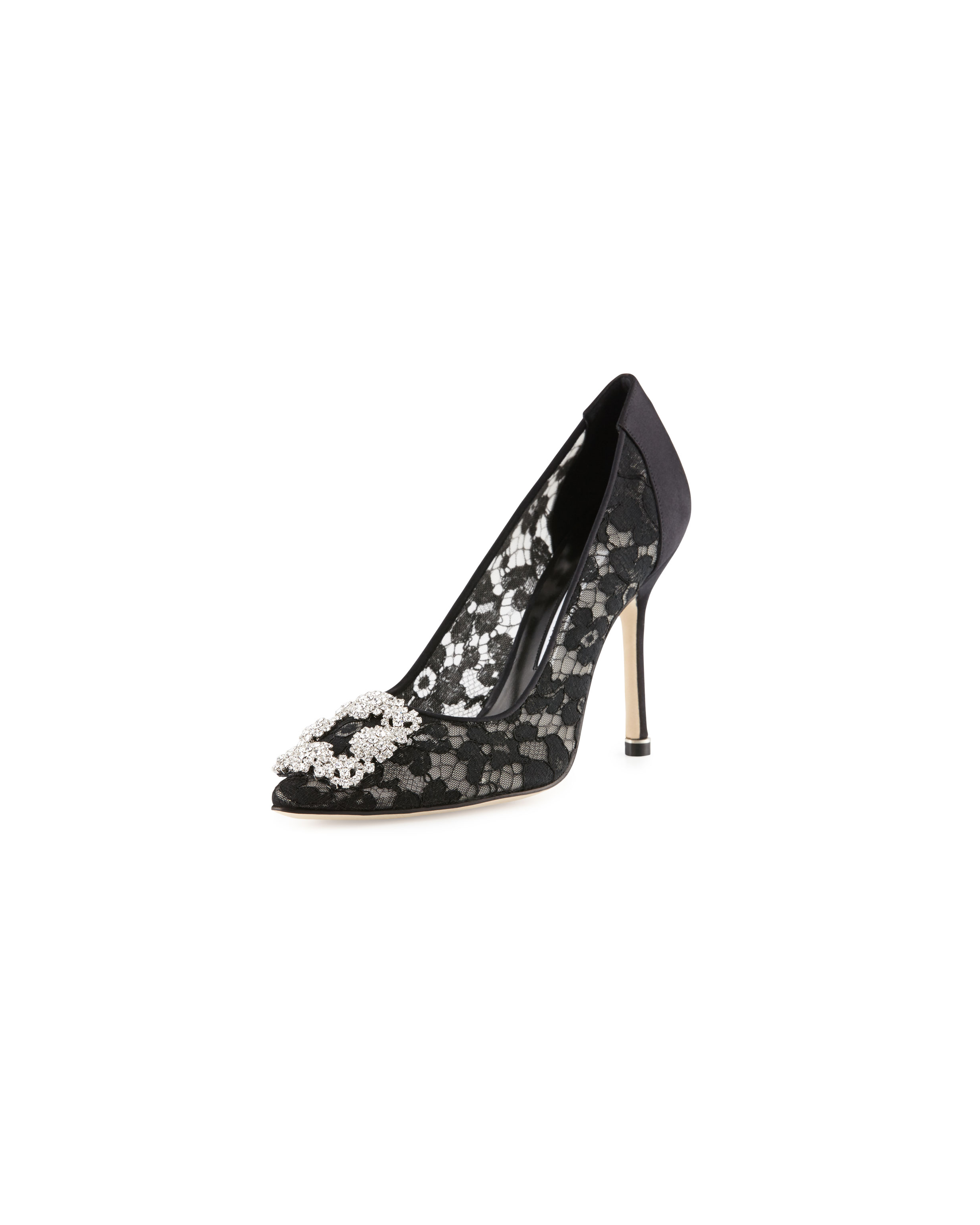 lace anniversary gifts lace pump manolo blahnik