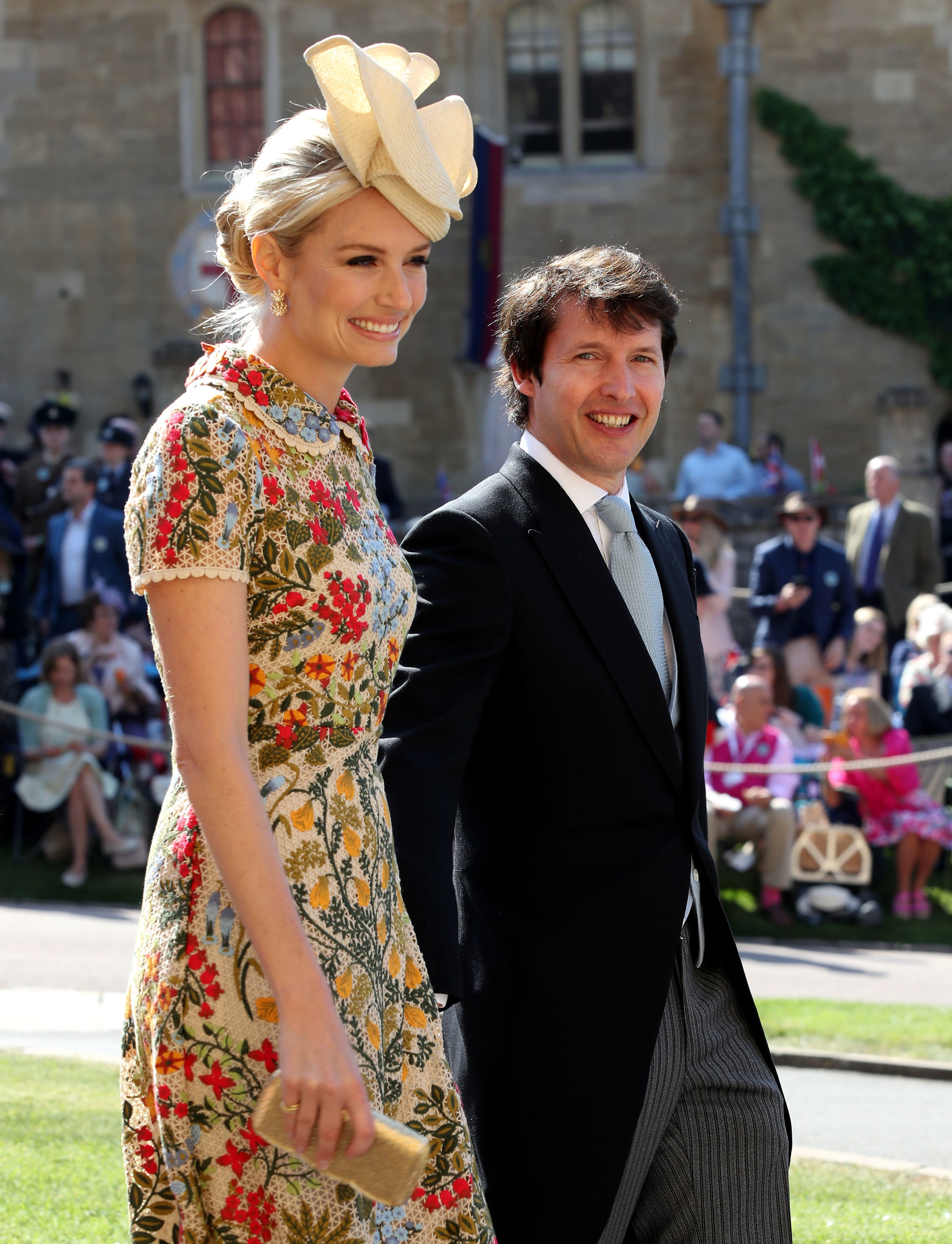 James Blunt and Sofia Wellesley royal wedding 2018