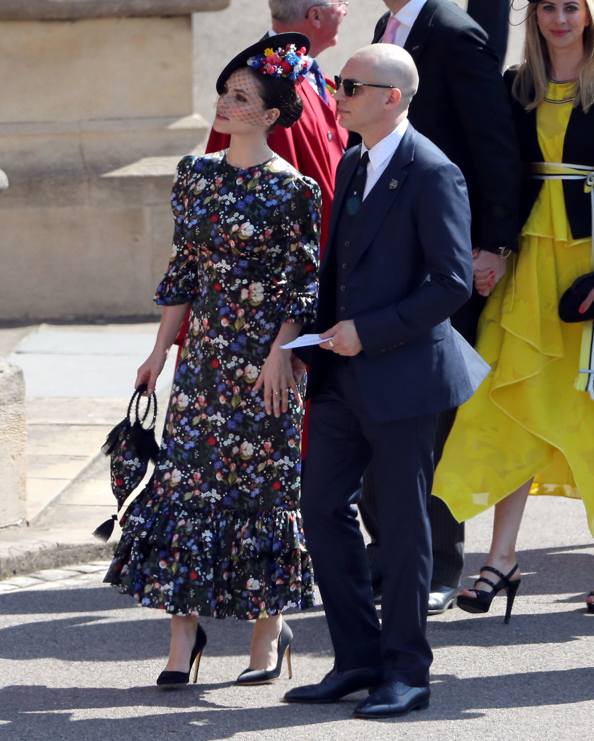 Tom Hardy and Charlotte Riley Royal Wedding 2018