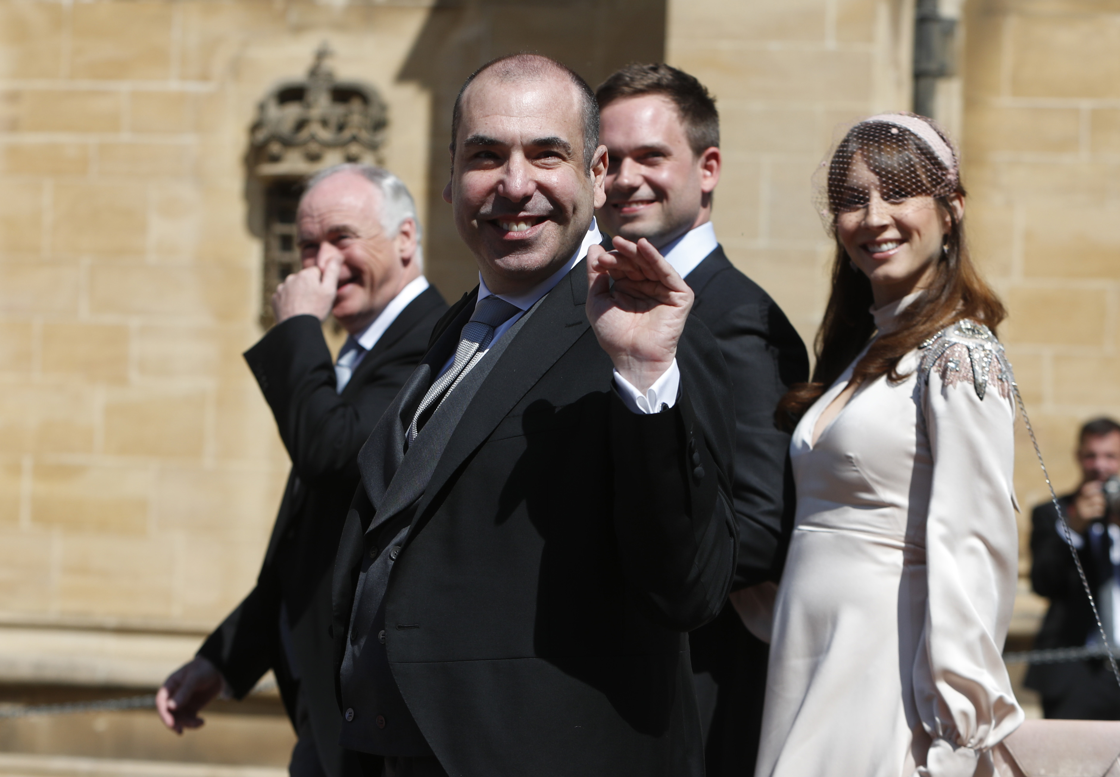Rick Hoffman Royal Wedding 2018