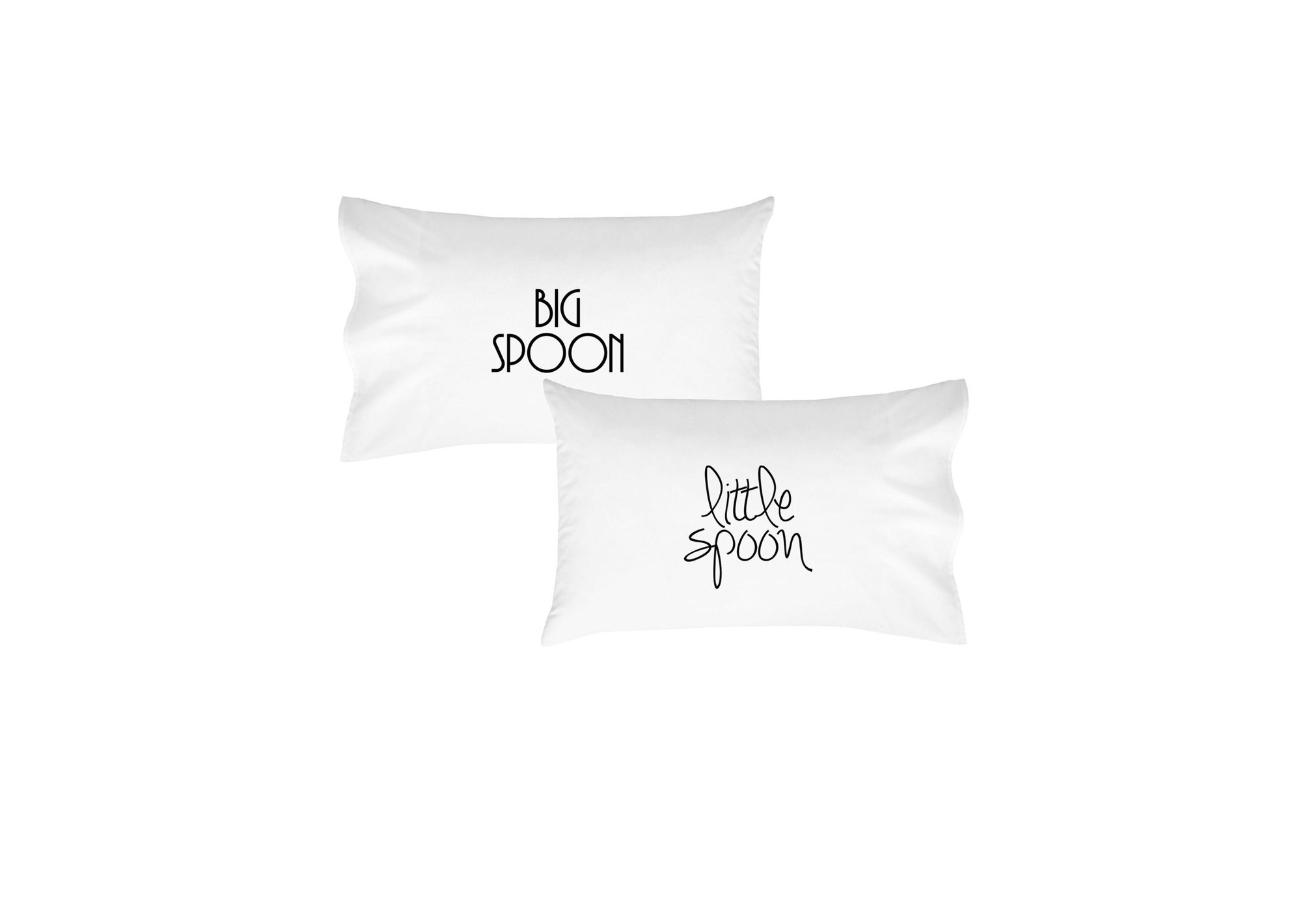 personalized engagement gift spoon pillows