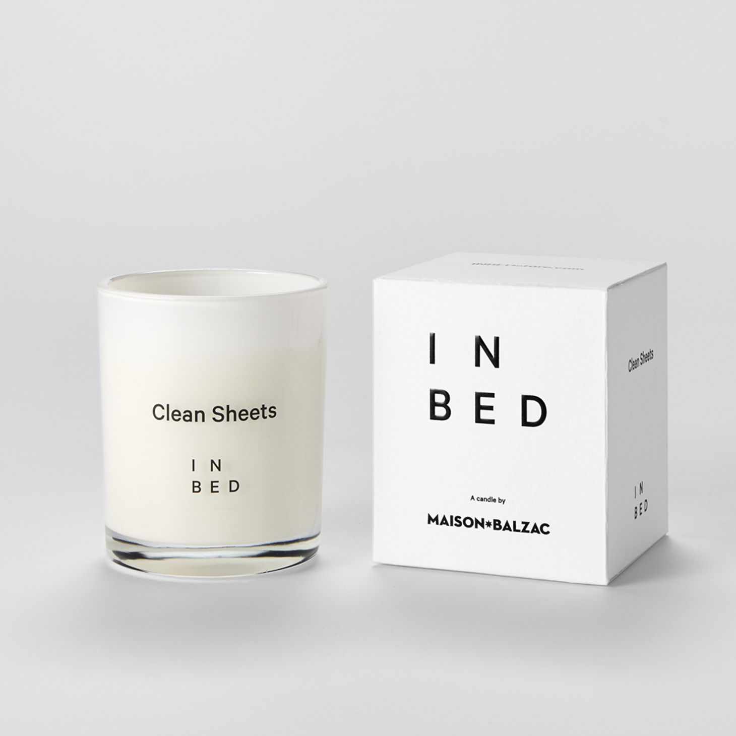 Linen Wedding Anniversary Gifts, In Bed Clean Sheets Candle