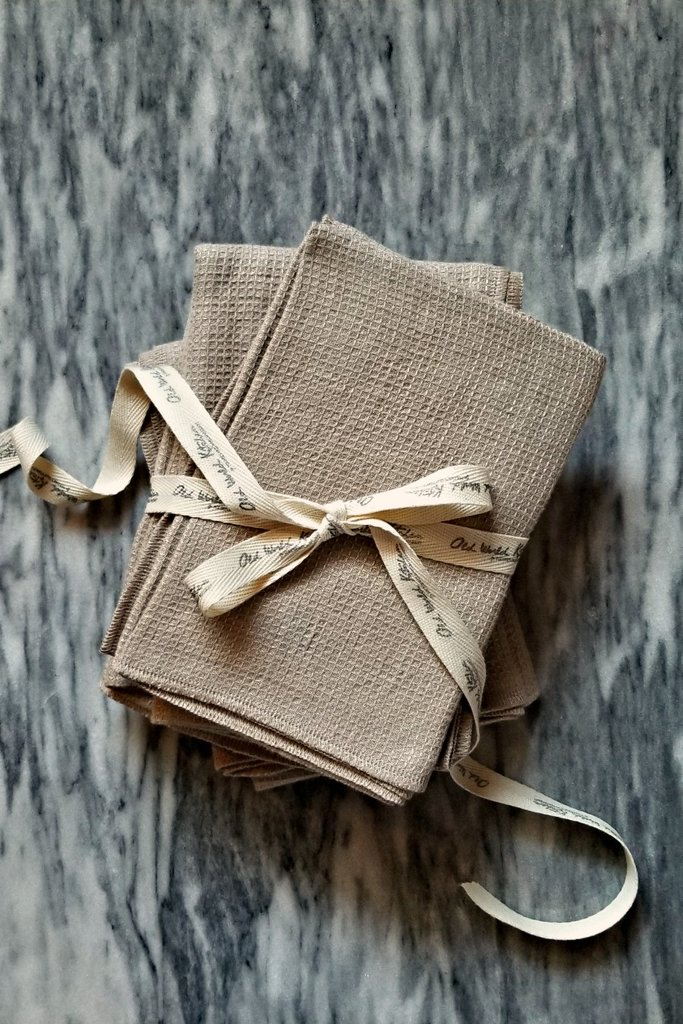 Linen Wedding Anniversary Gifts, Linen Kitchen Towels