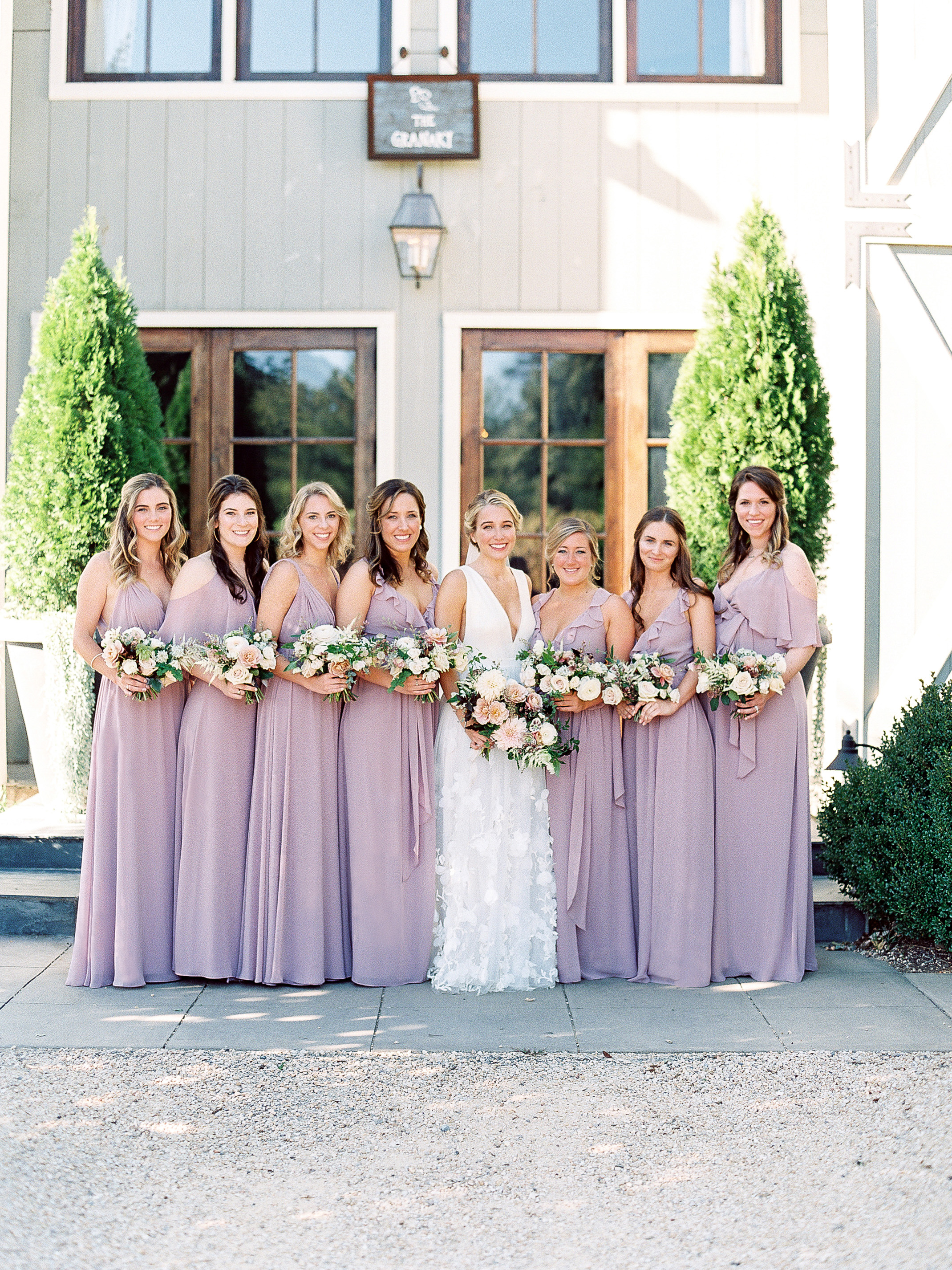 julianne aaron wedding bridesmaids