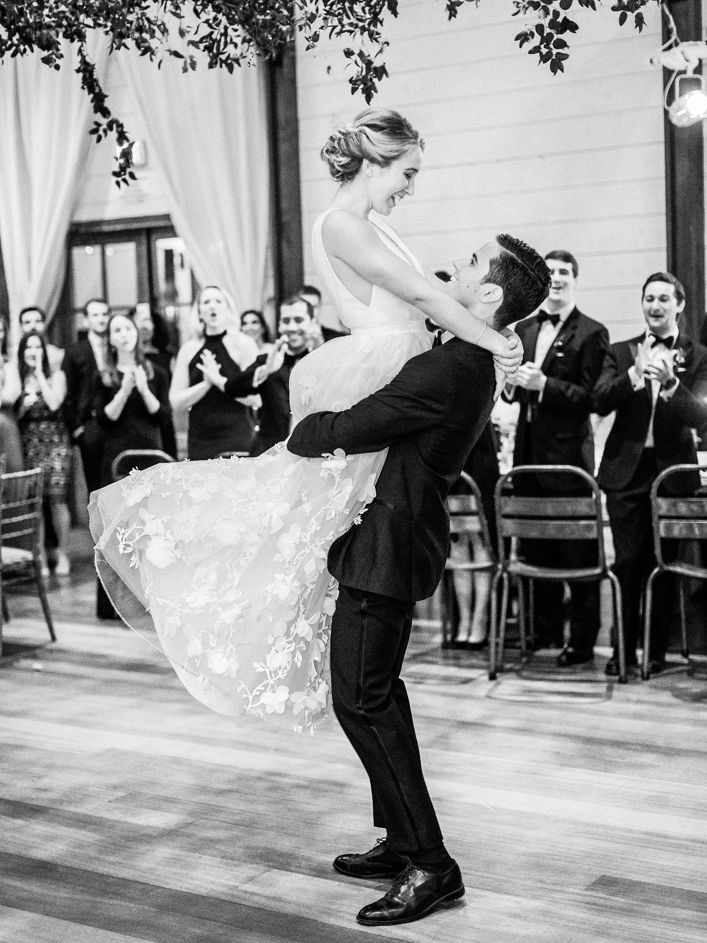 julianne aaron wedding first dance lift