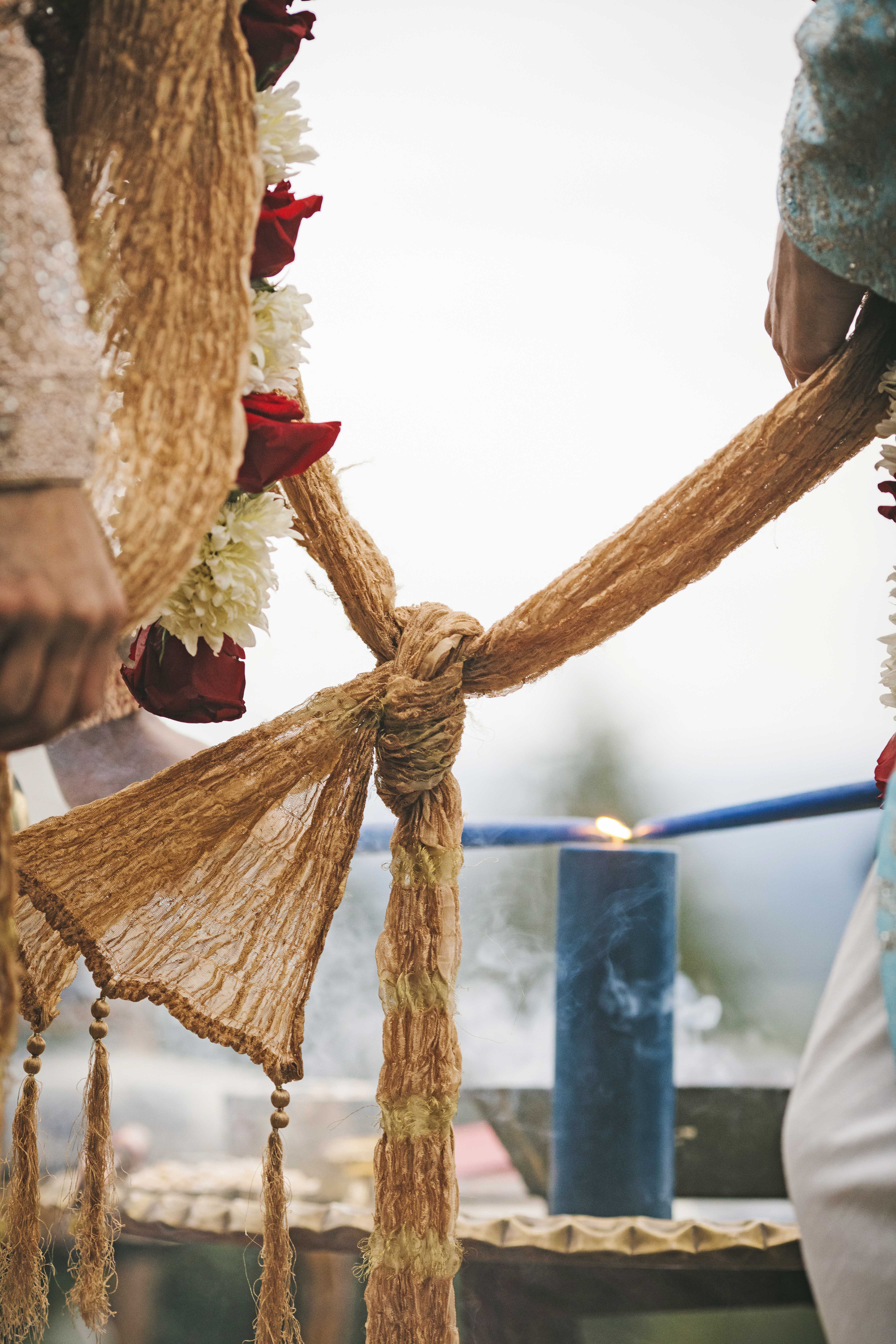 Tying the Garlands