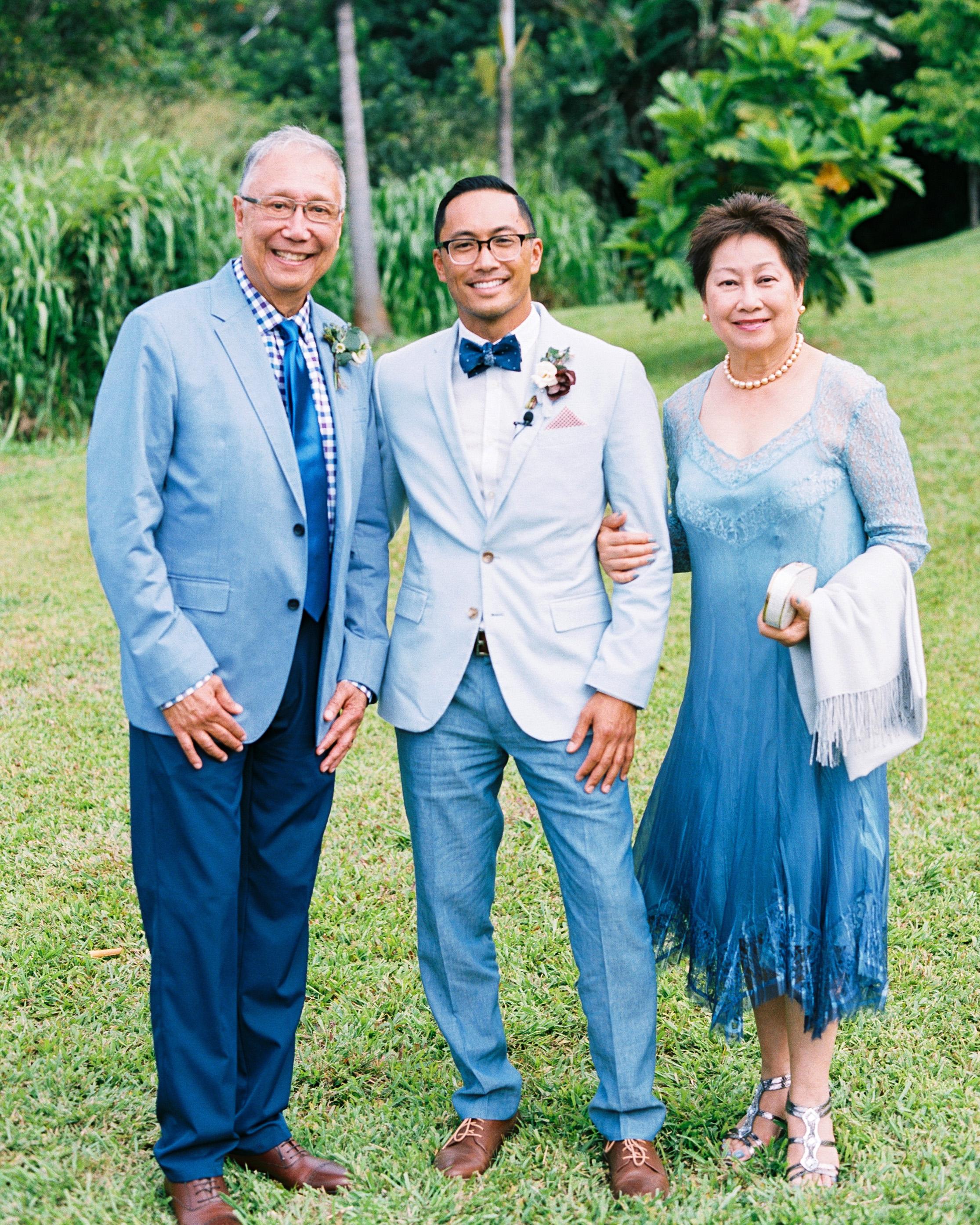 rebecca eryck wedding hawaii parents groom