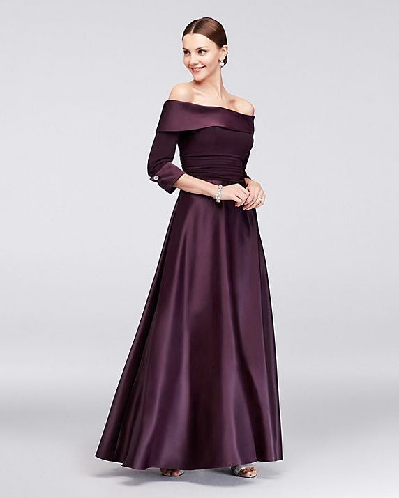 Jessica Howard Off-the-Shoulder Ball Gown