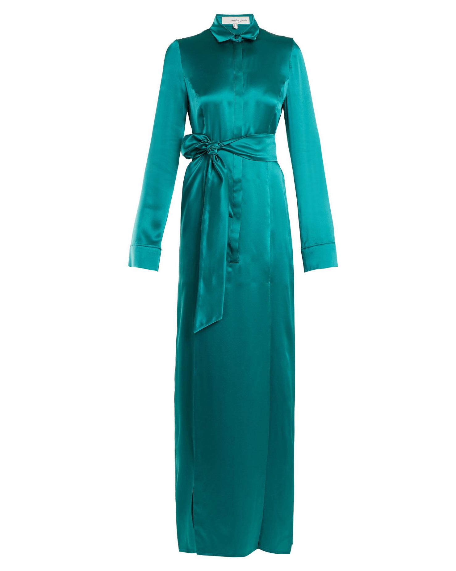"""Galvan """"Laguna"""" Tie-Waist Dress"""