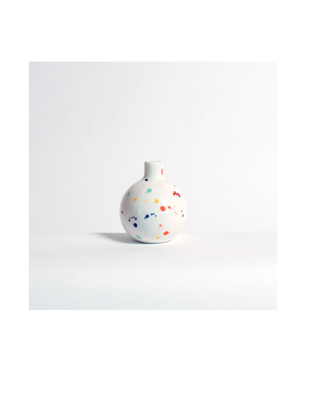 hollowware anniversary gifts confetti vase felt and fat