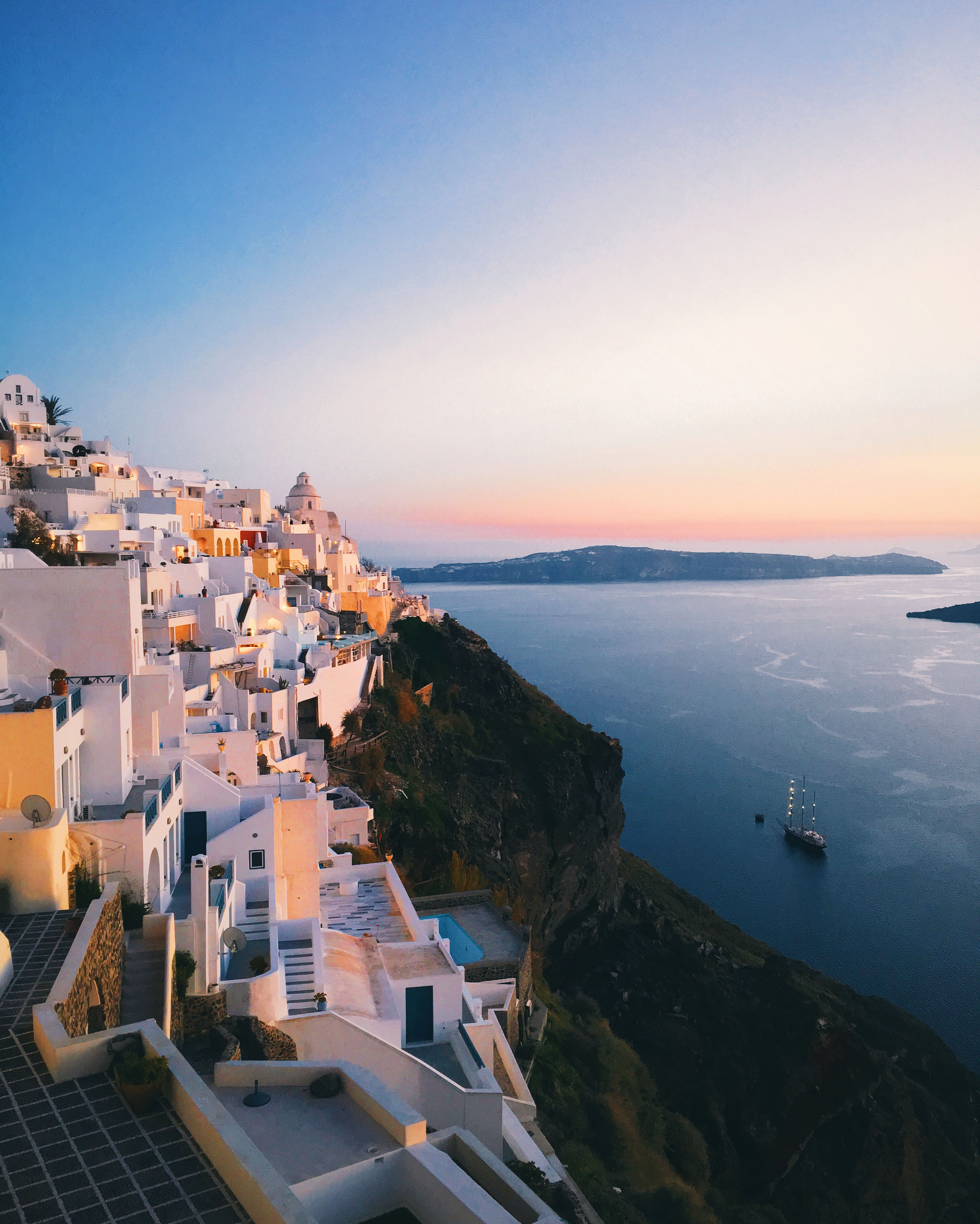 santorini greece travel photo