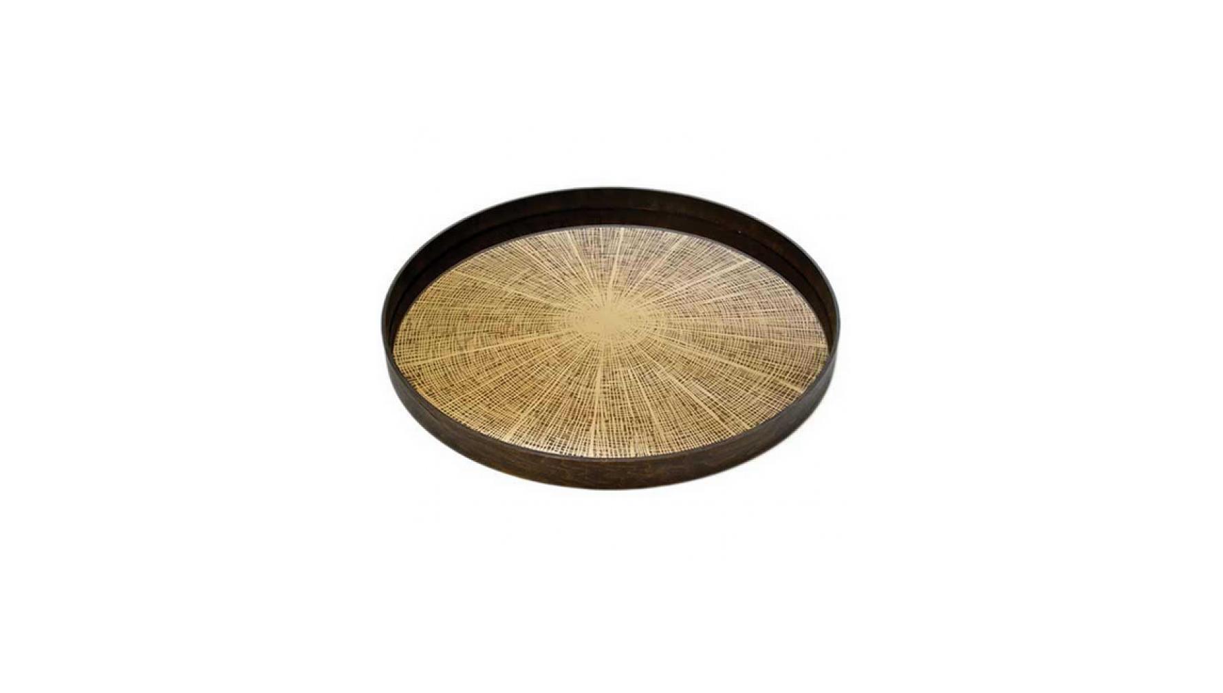 bronze anniversary gift slice tray