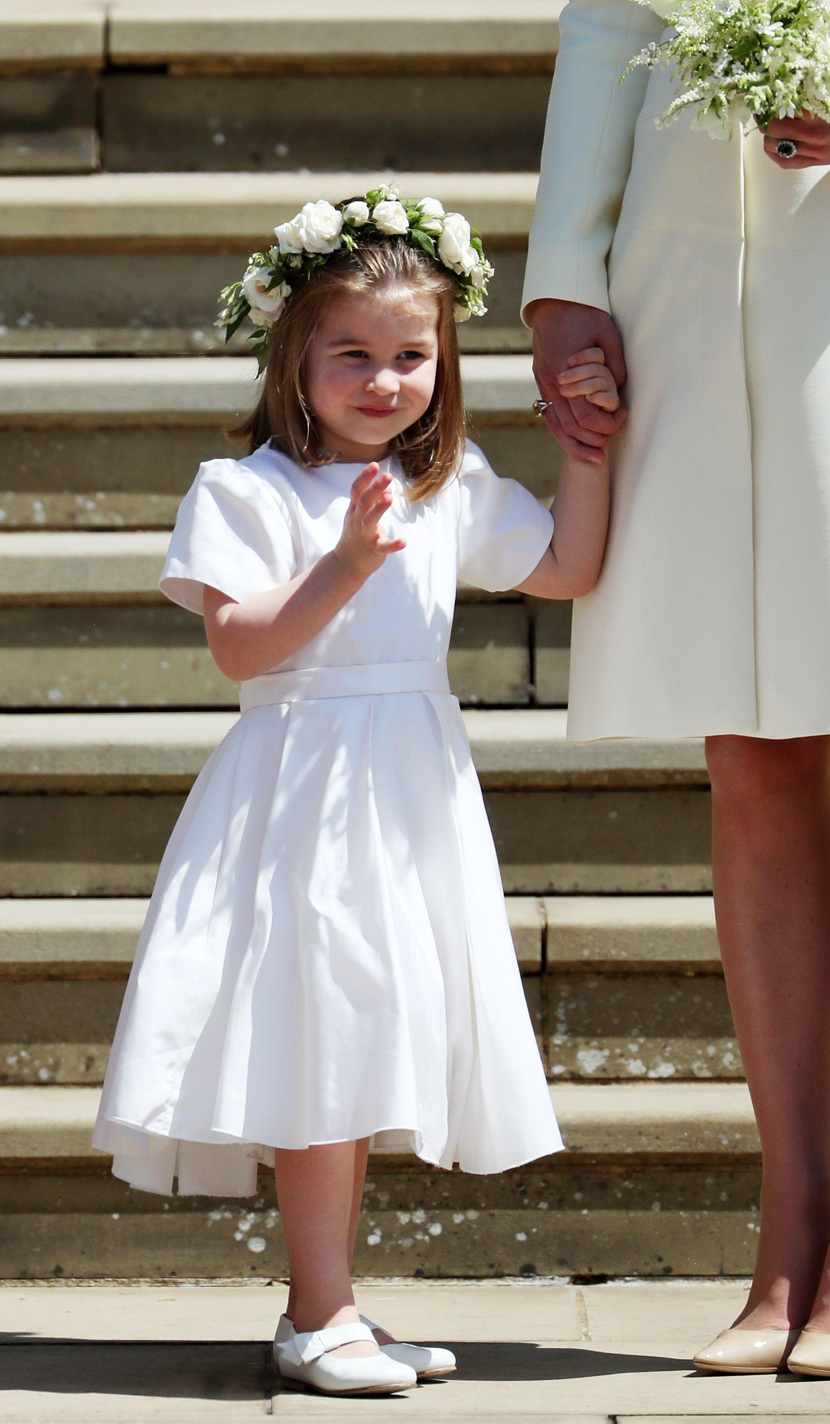 Princess Charlotte at Royal Wedding 2018