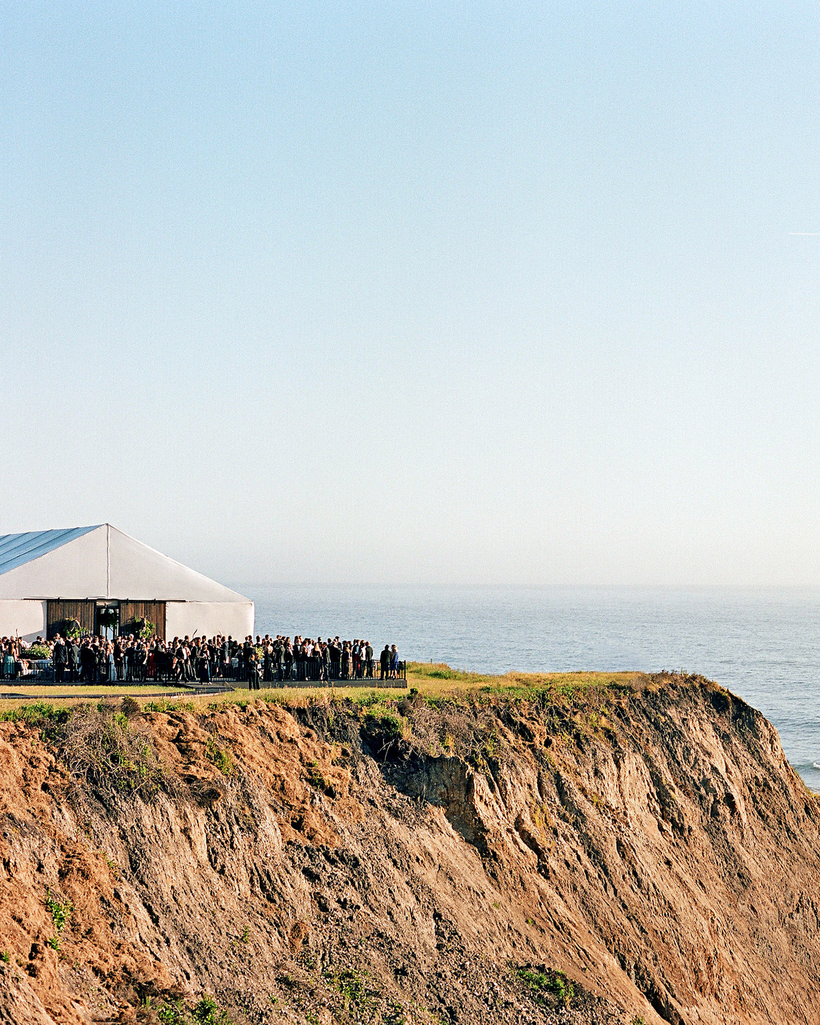 whitney zach wedding reception on bluff