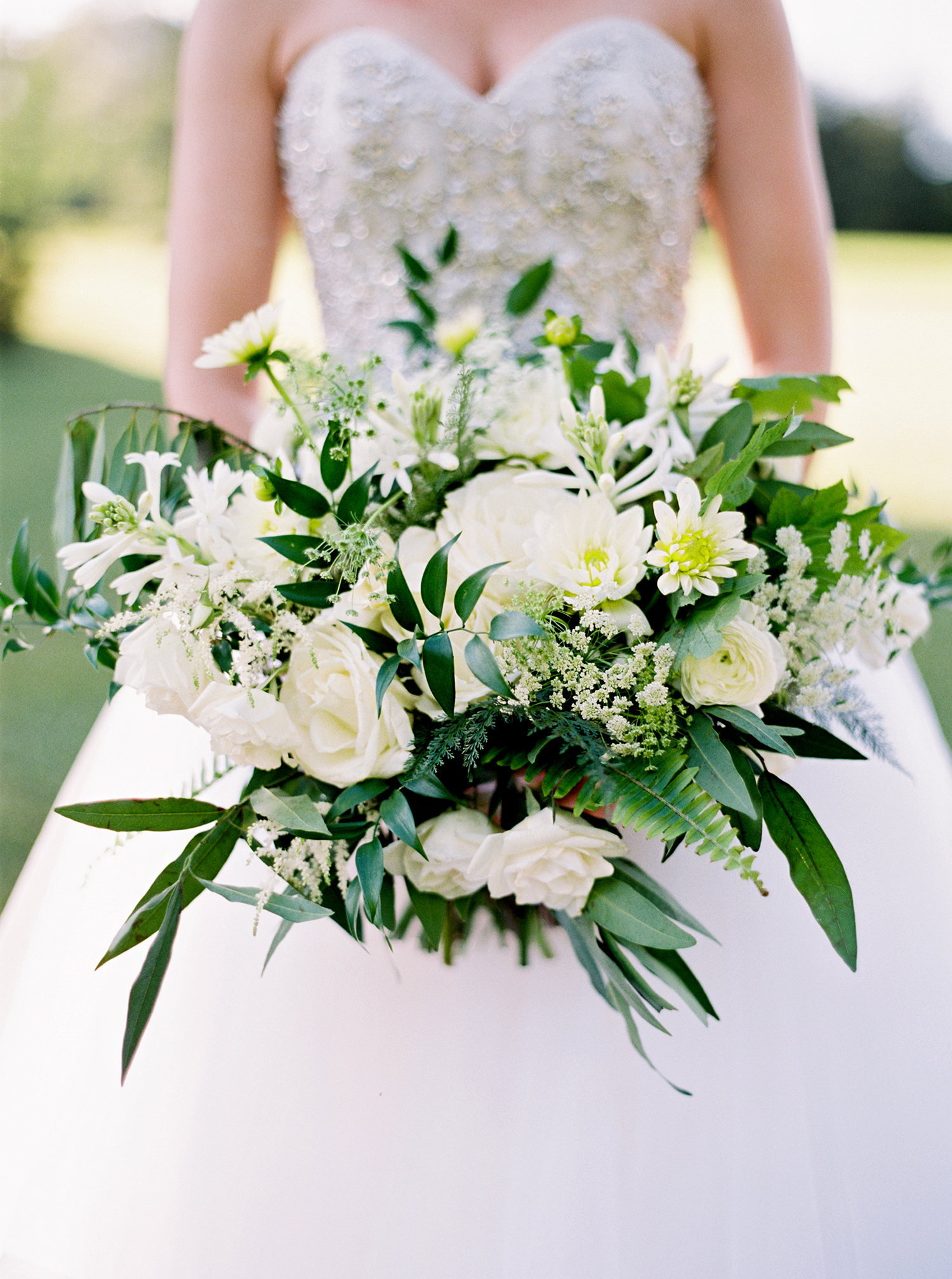 dani jackson wedding bridal bouquet