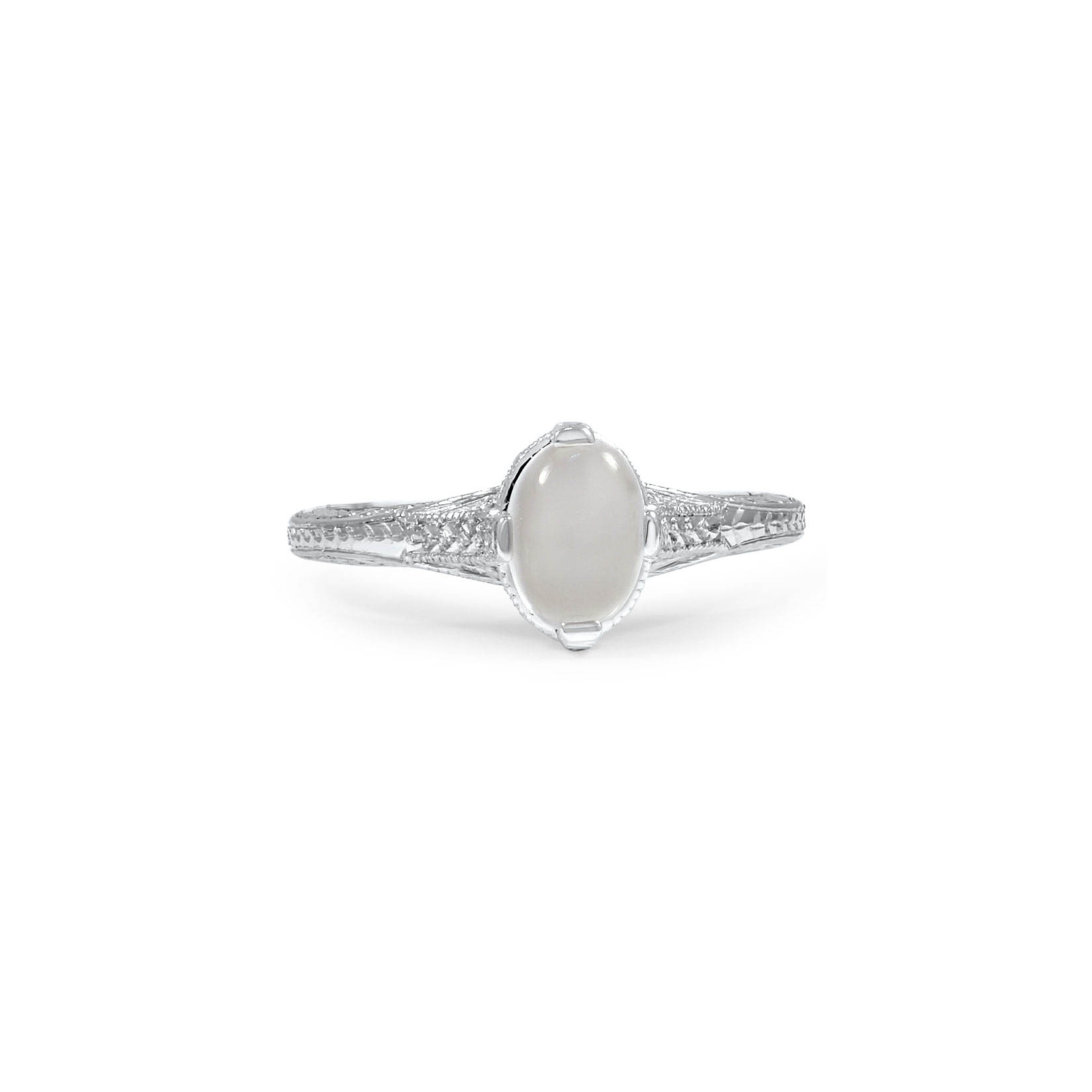 Moonstone Engagement Ring, Brilliant Earth