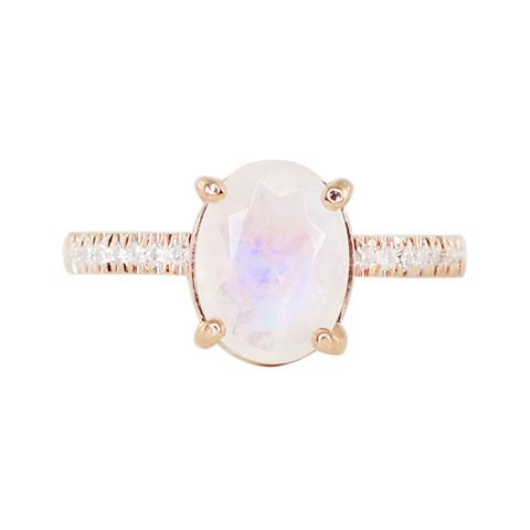 Moonstone Engagement Rings, Oval Ring from Luna Syke