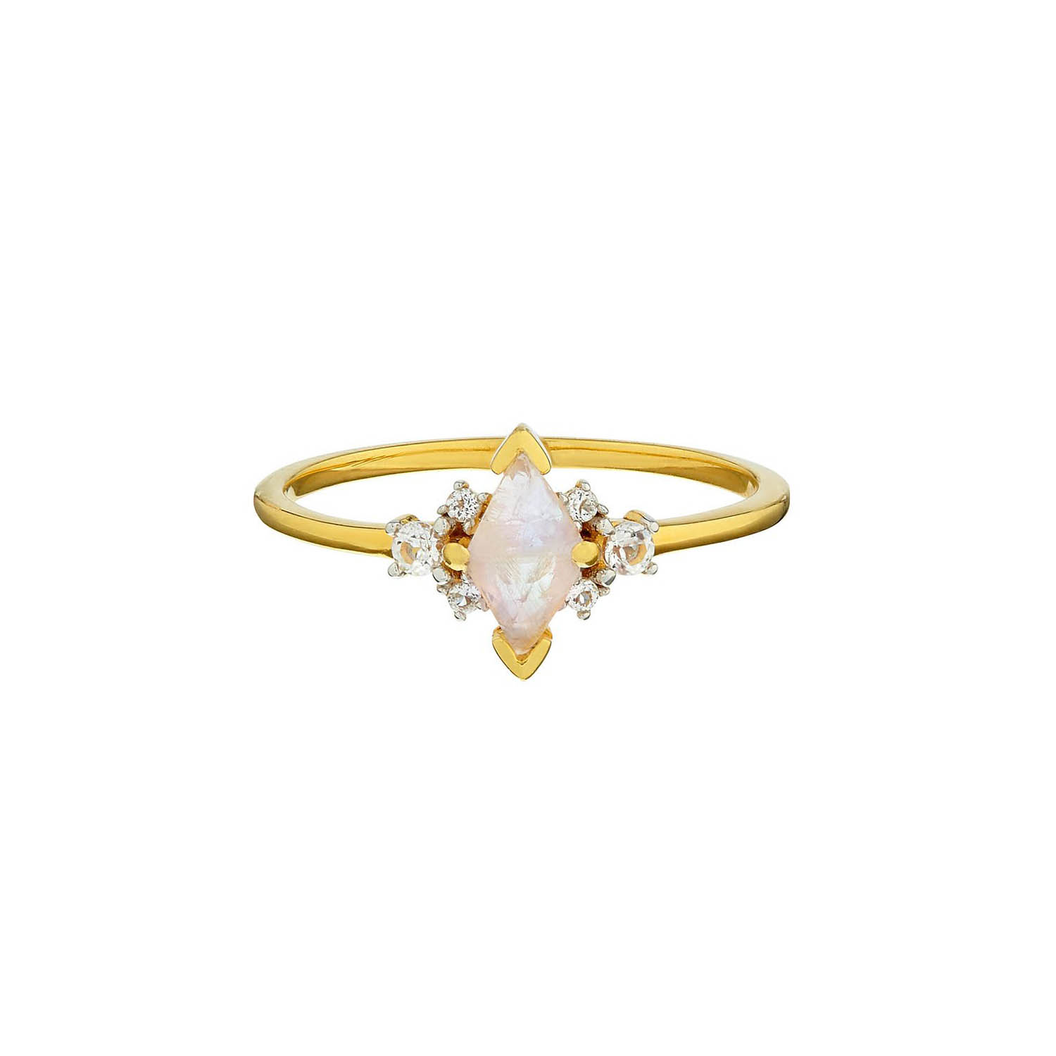 Moonstone Engagement Ring, Carrie Elizabeth Jewellery