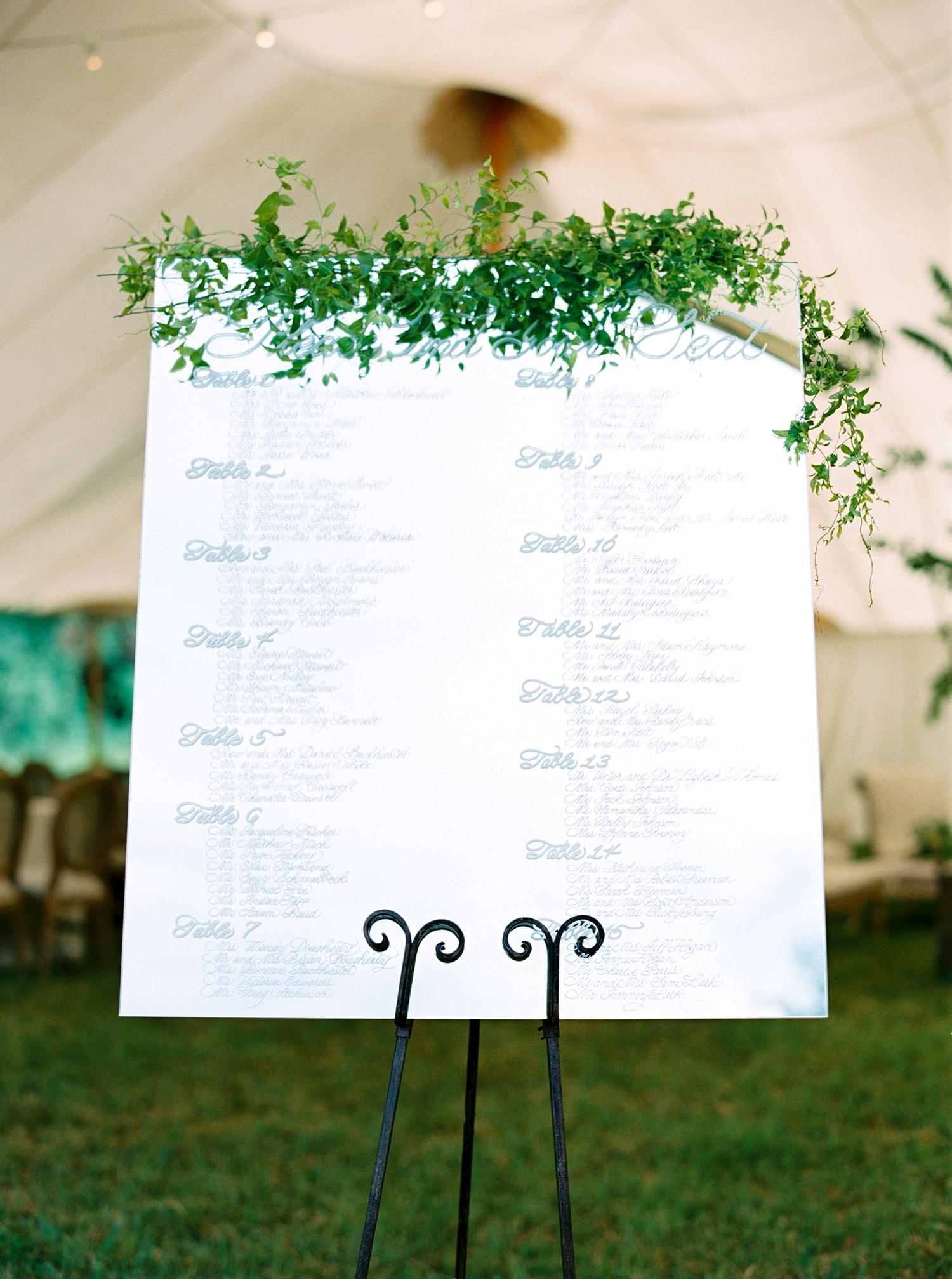 dani jackson wedding seating chart