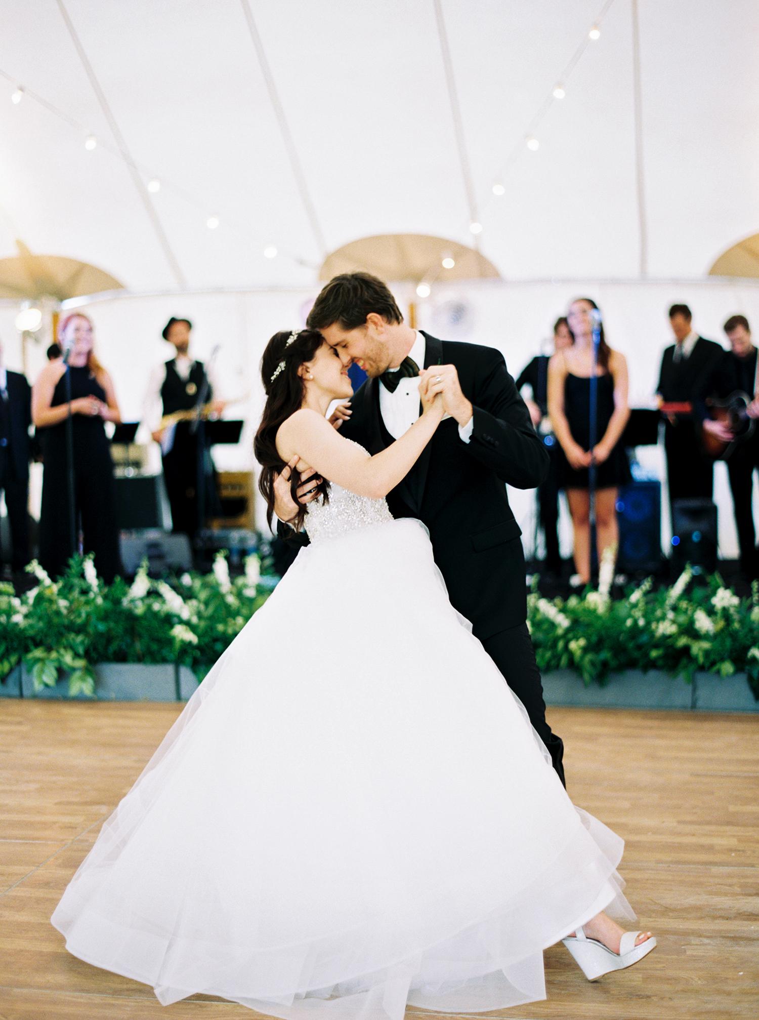 dani jackson wedding first dance