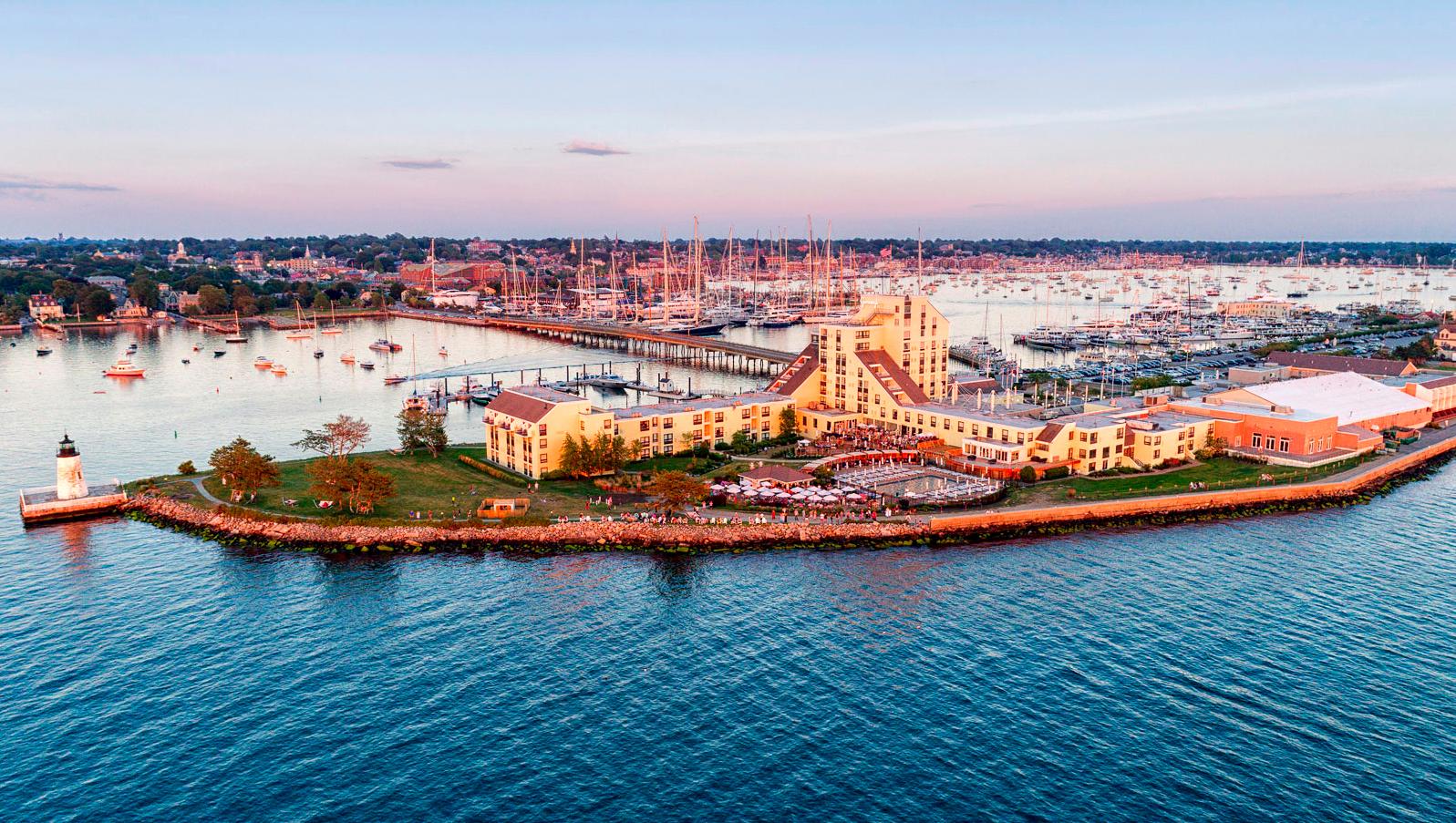 new venue waterfront island resort