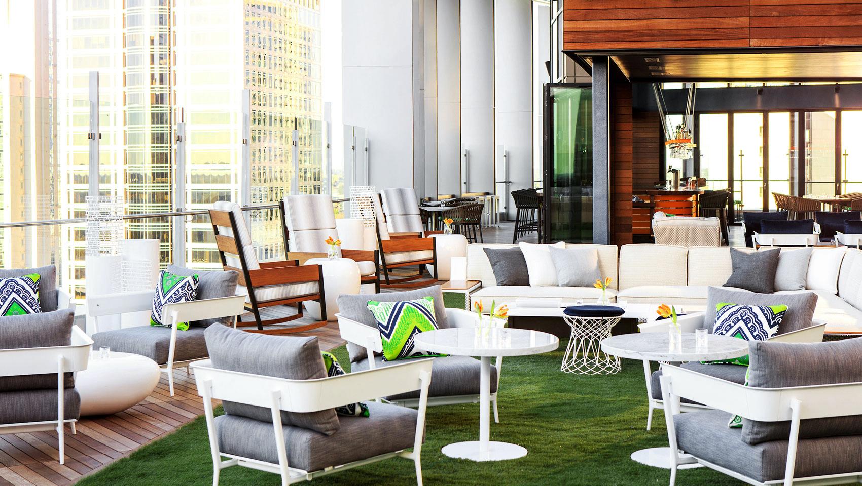 new venue indoor seating reception space