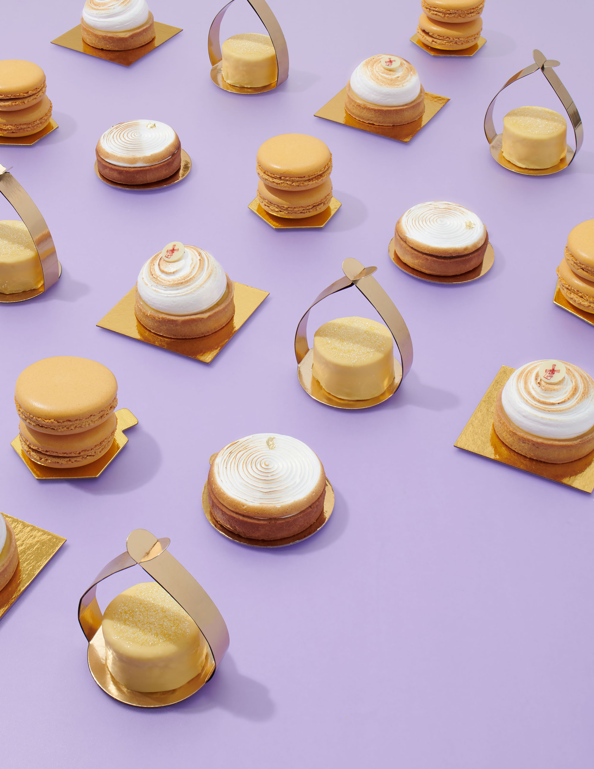 mini citrus desserts