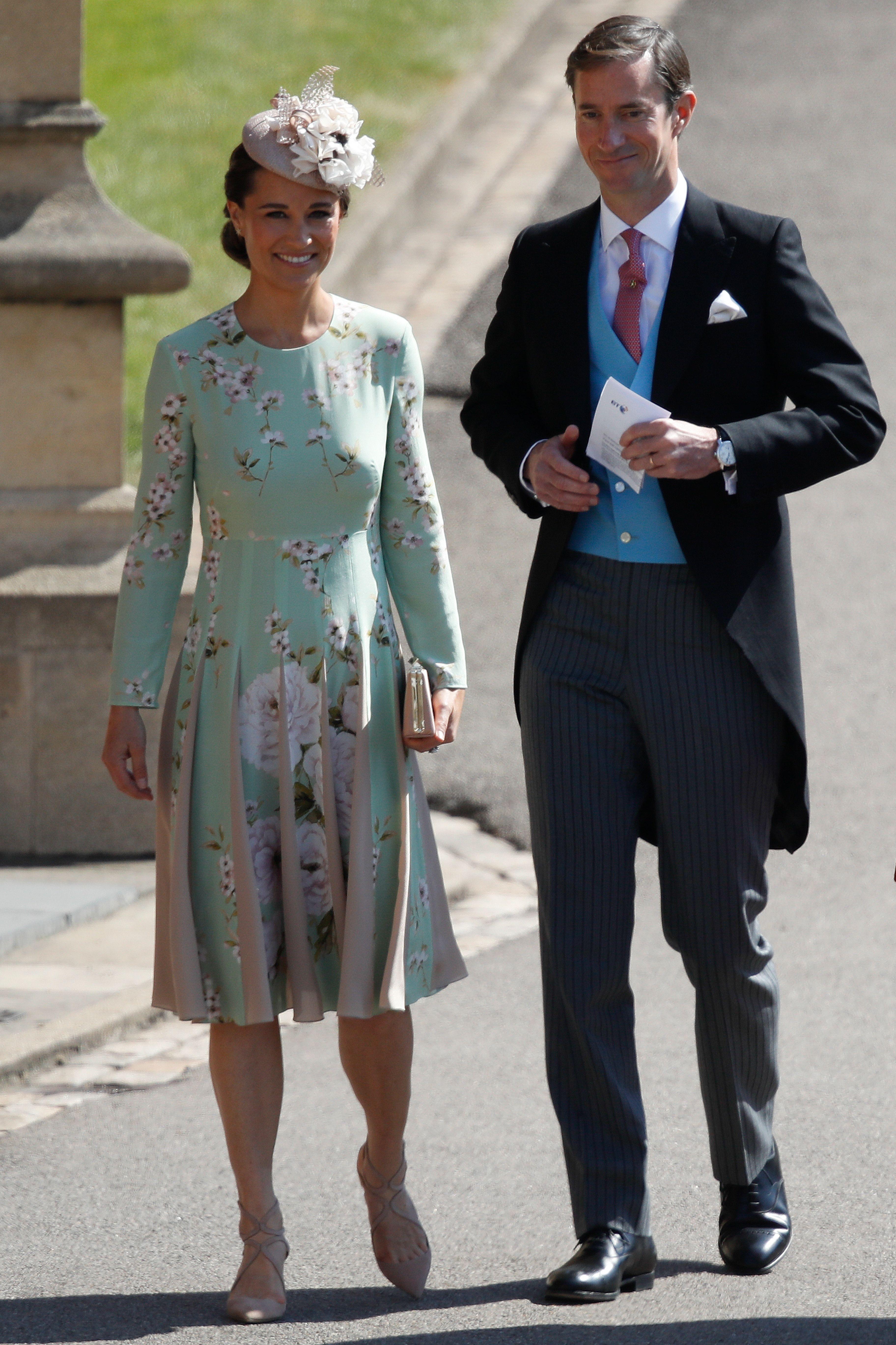 Pippa Middleton and James Matthews at Royal Wedding 2018
