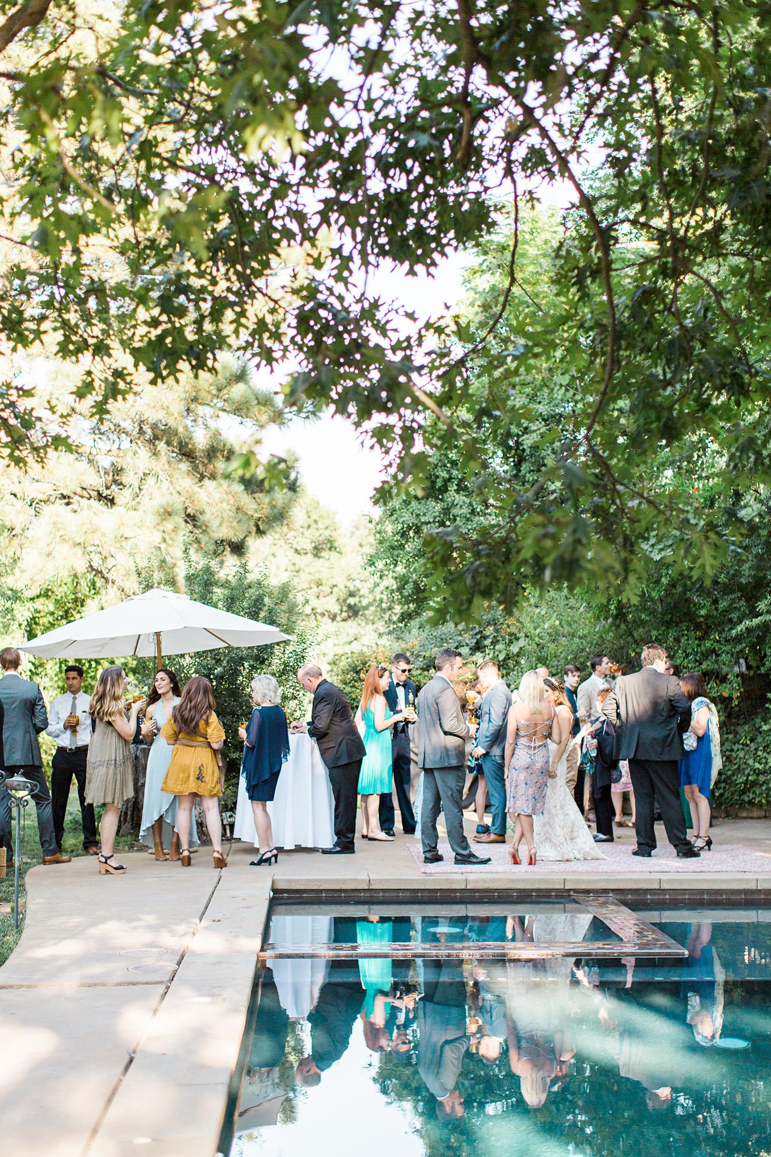 megan scott wedding cocktail hour