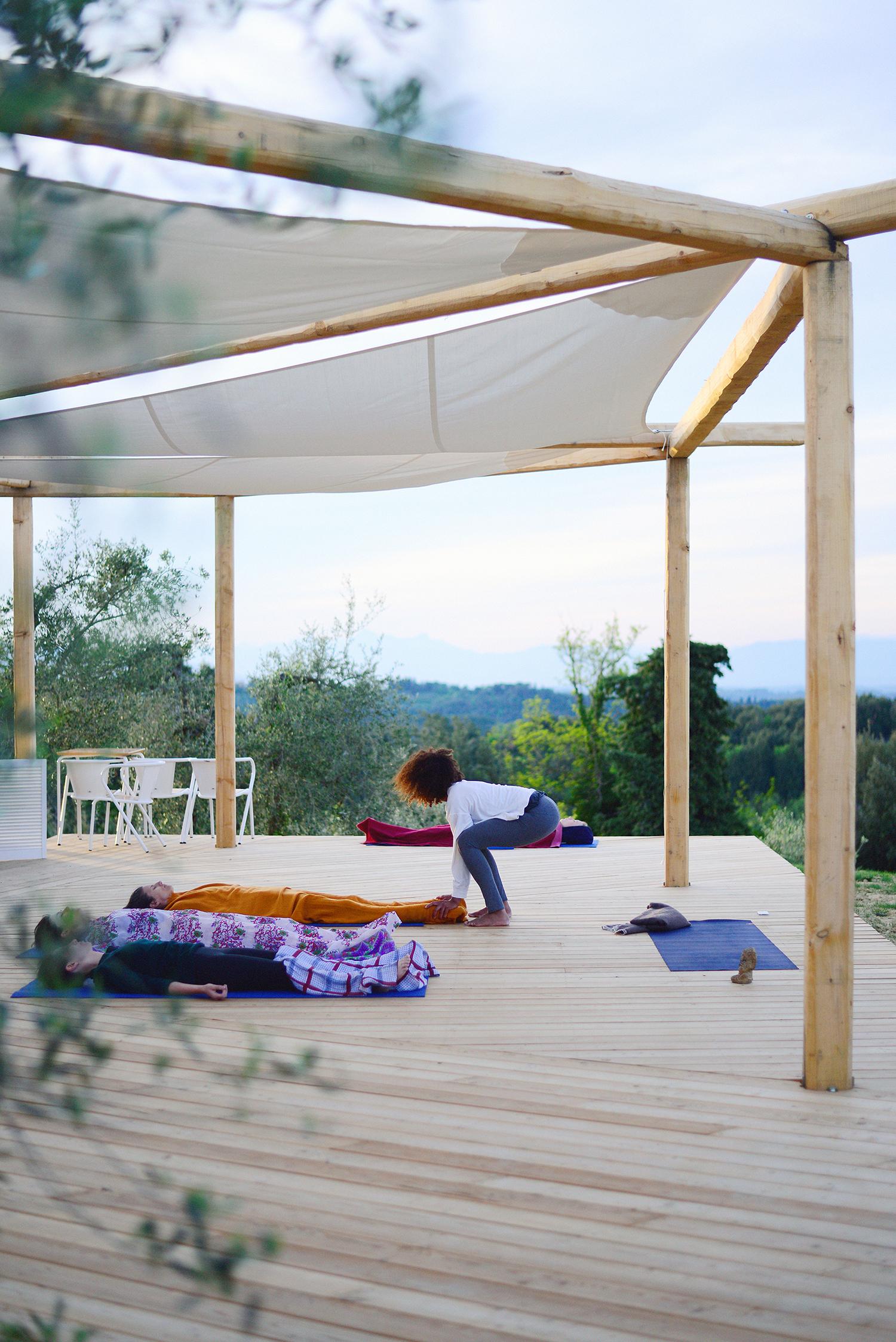 Yoga Retreat Bachelorette Party