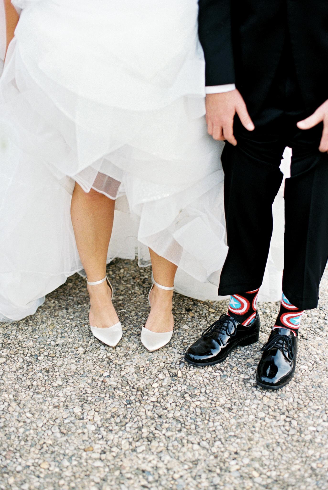 brittany alex wedding shoes