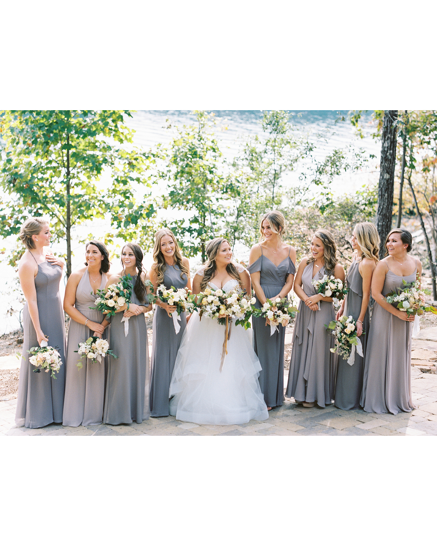 brittany alex wedding bridesmaids