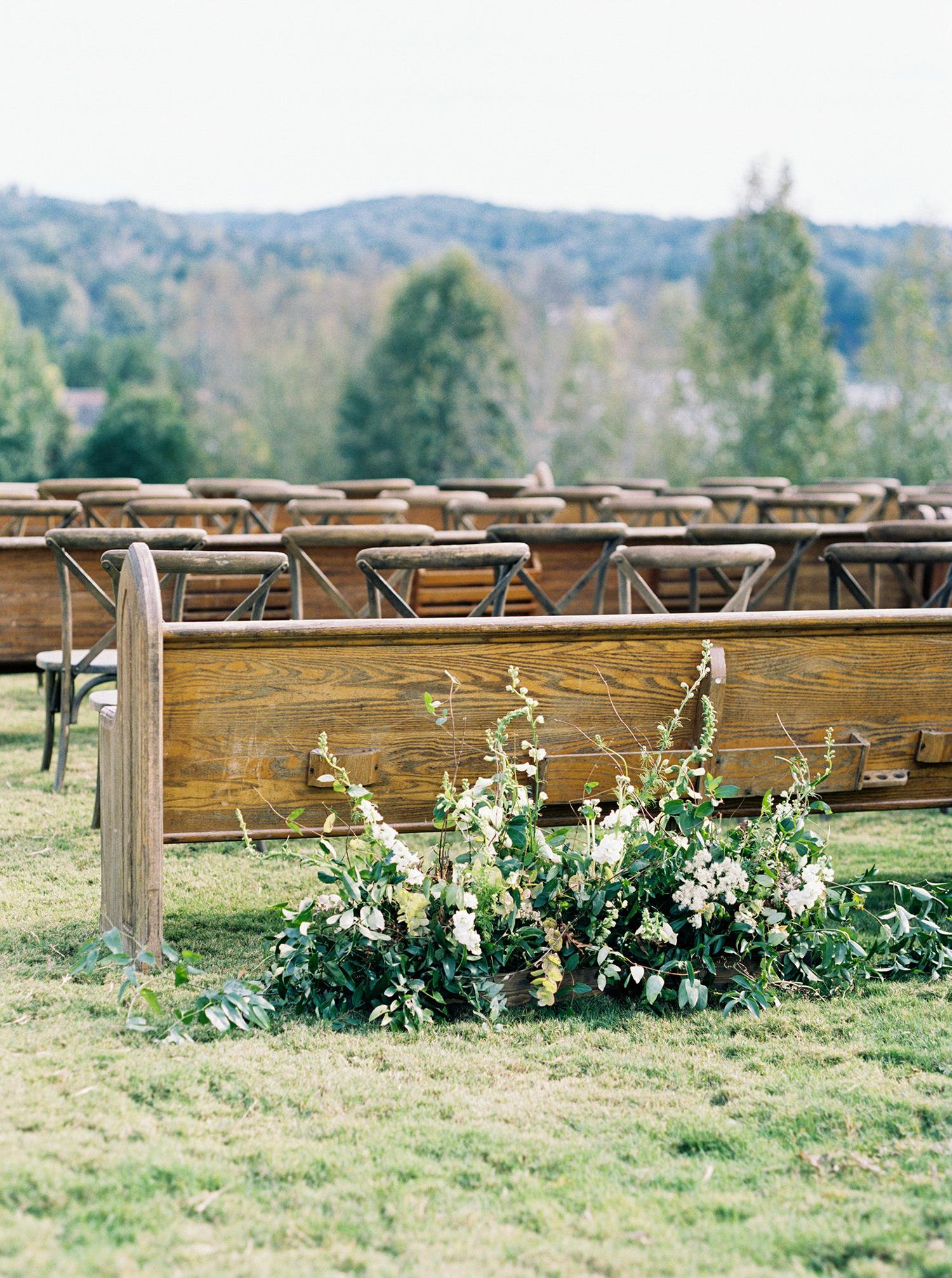 brittany alex wedding ceremony seating