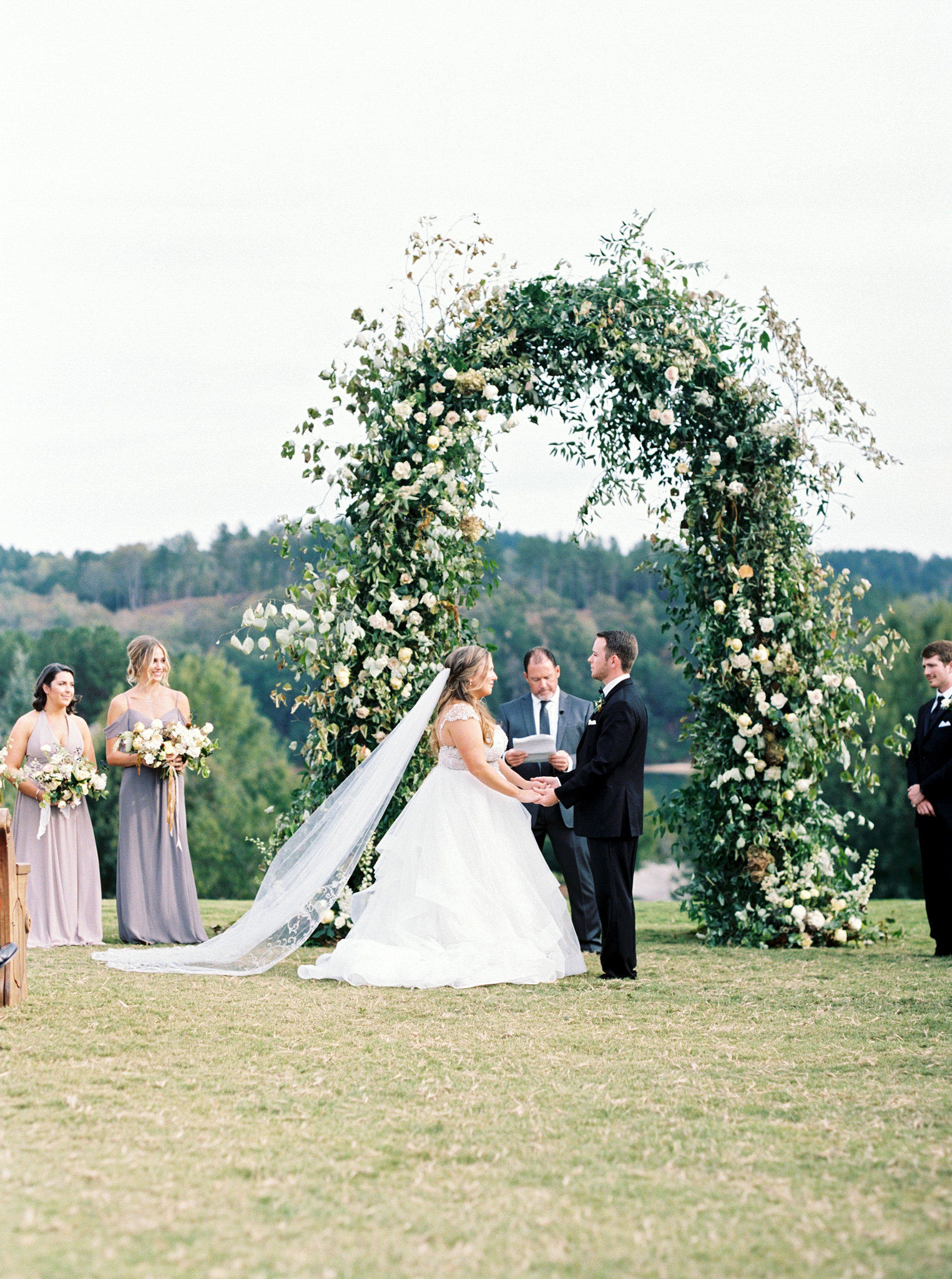 brittany alex wedding outdoor ceremony