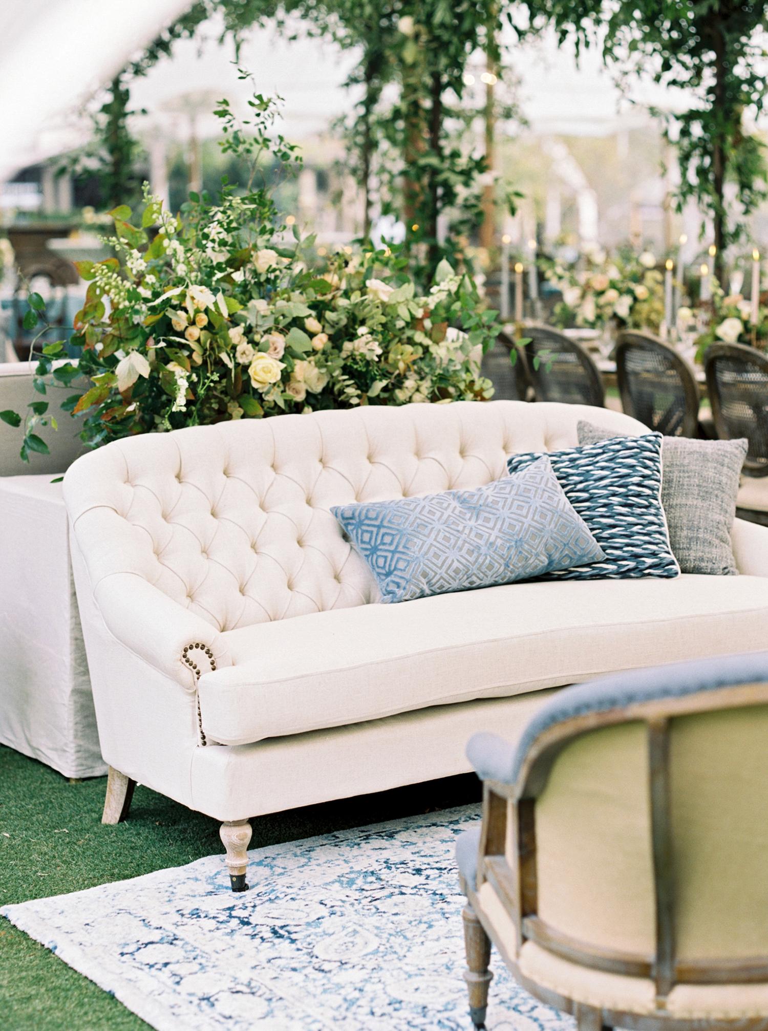 brittany alex wedding lounge area