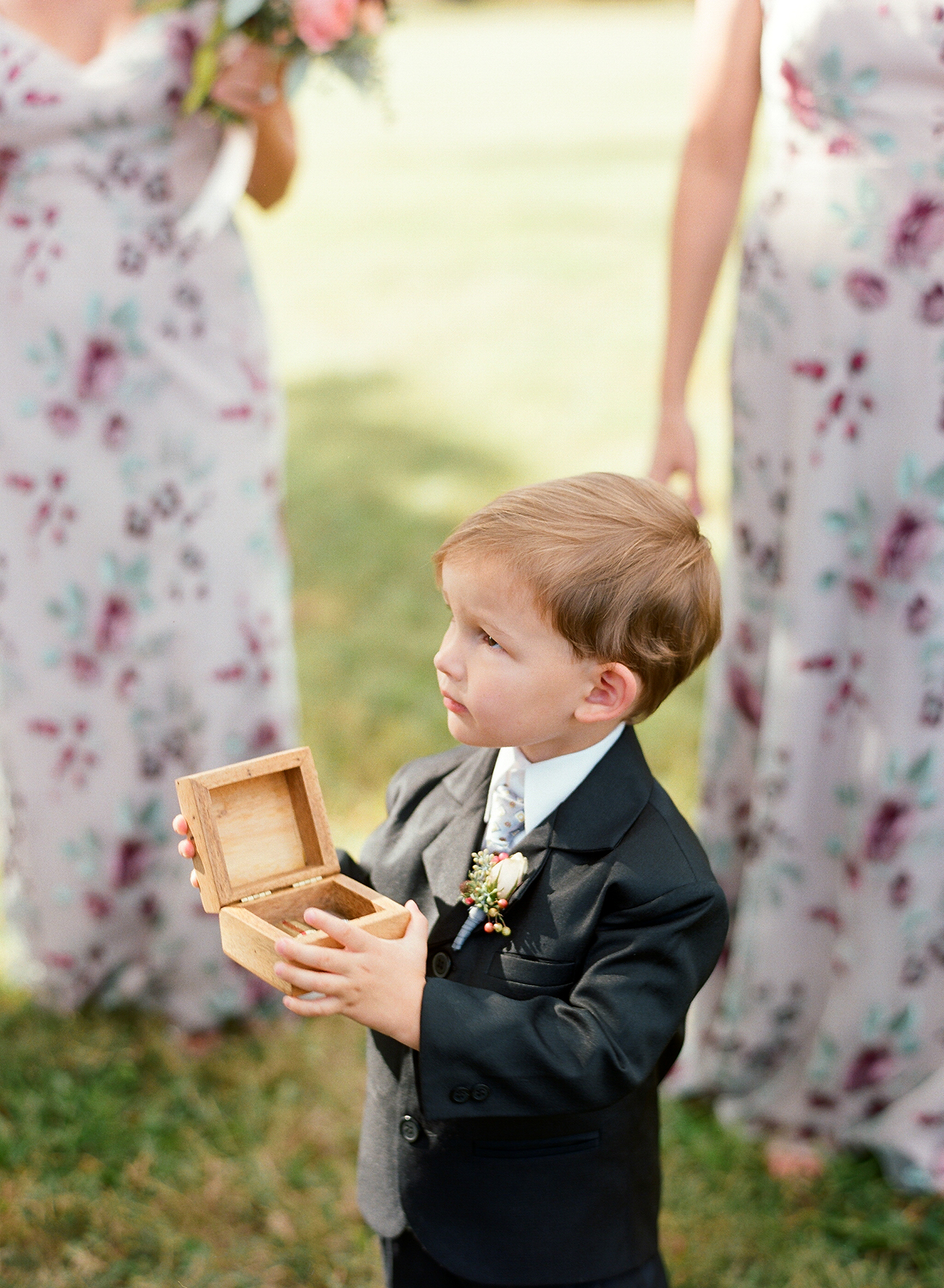 jen geoff wedding ring bearer