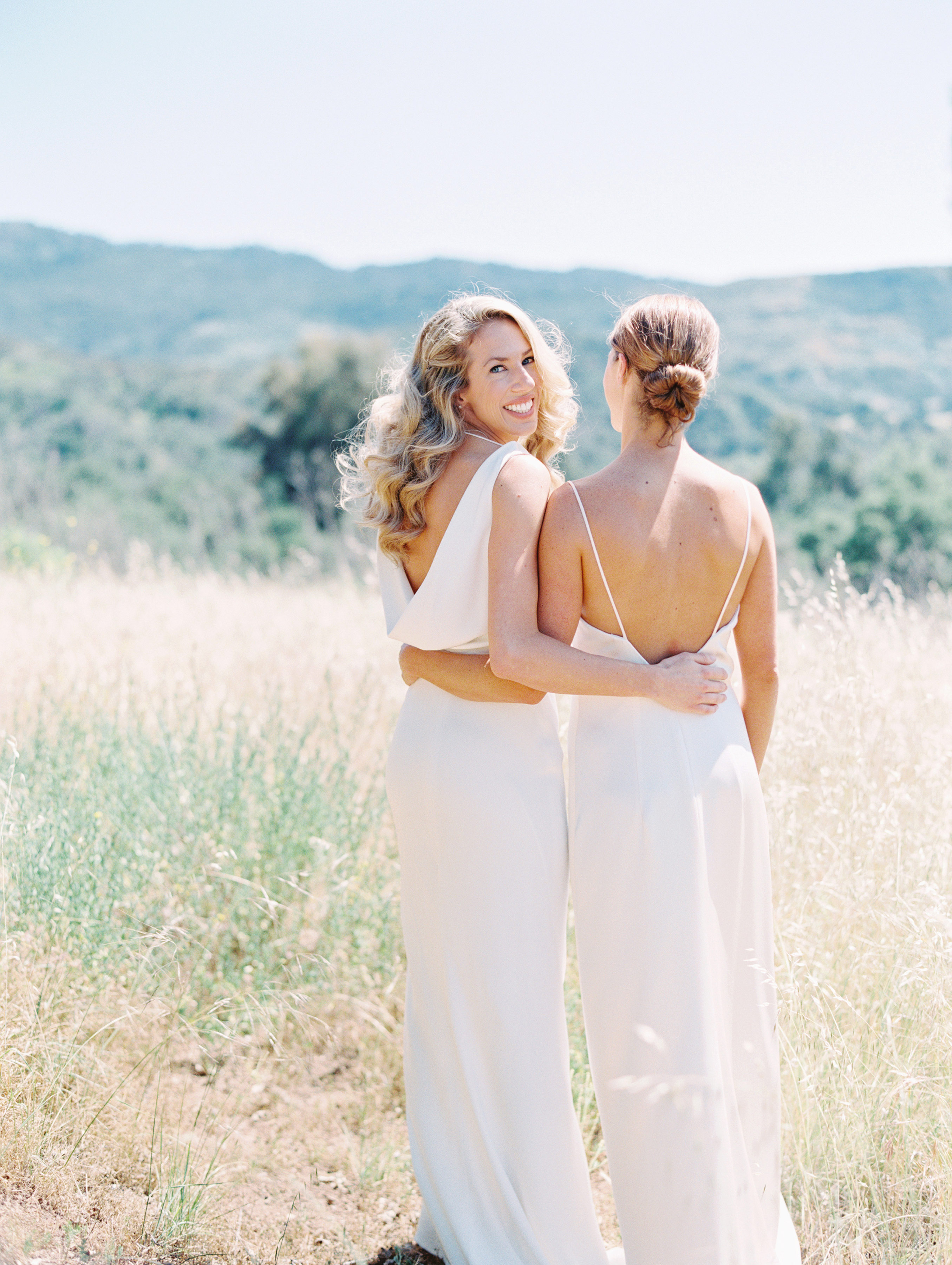 lgbtq bridal inspiration lavender and twine