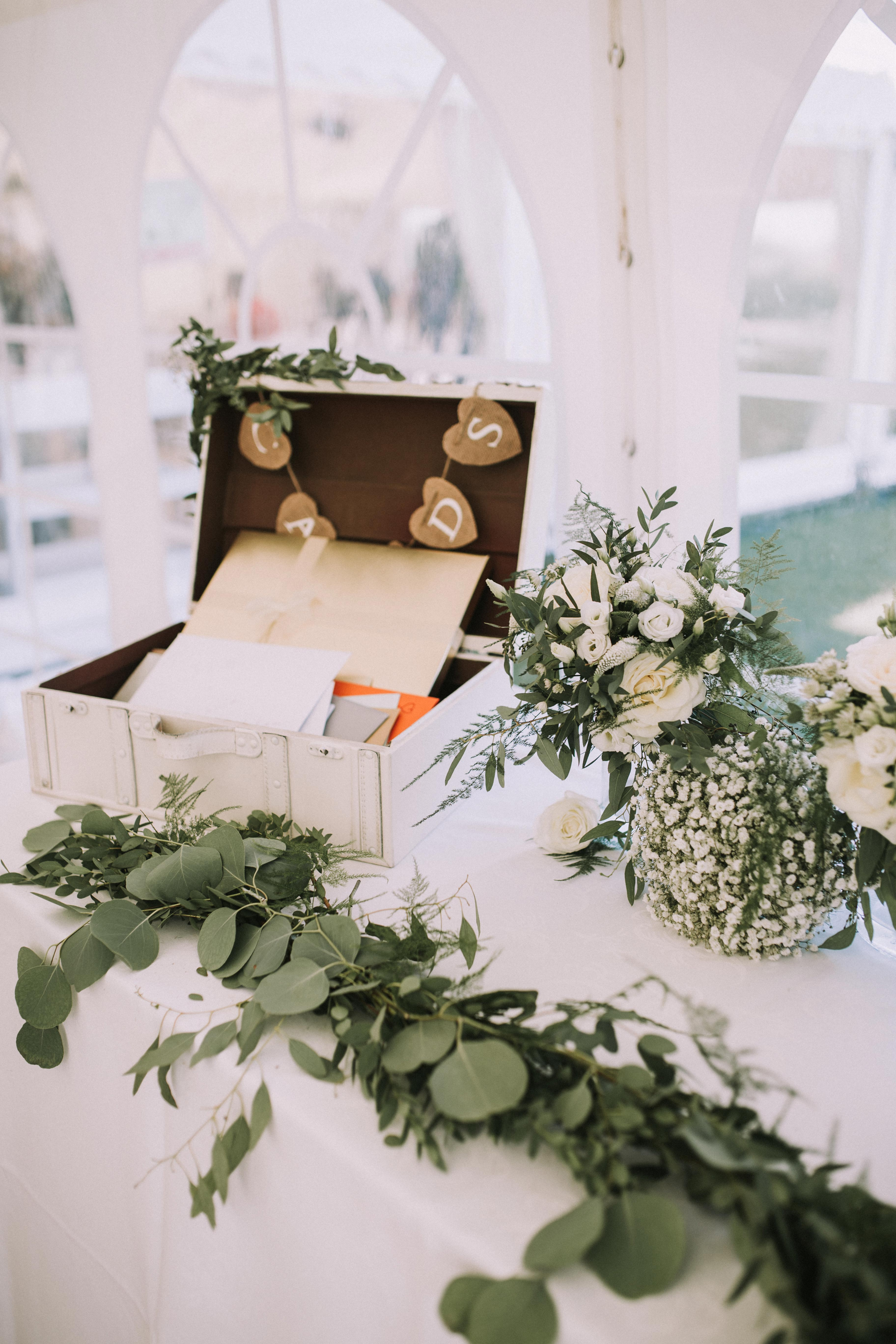 wedding gift tables nataly j photography