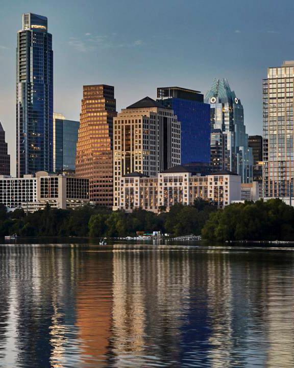 city honeymoon destinations austin cityscape four seasons