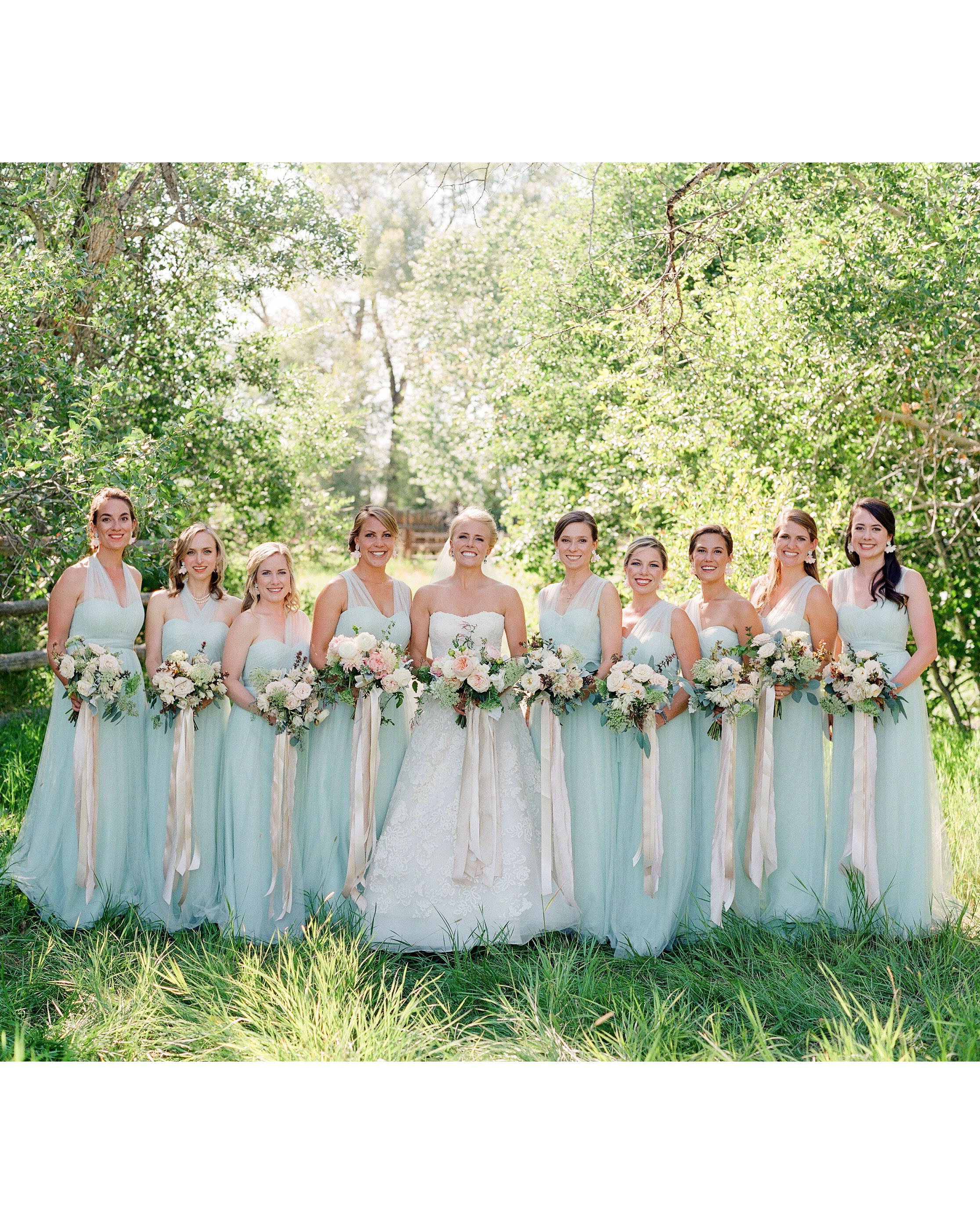 bessie john wedding bridesmaids