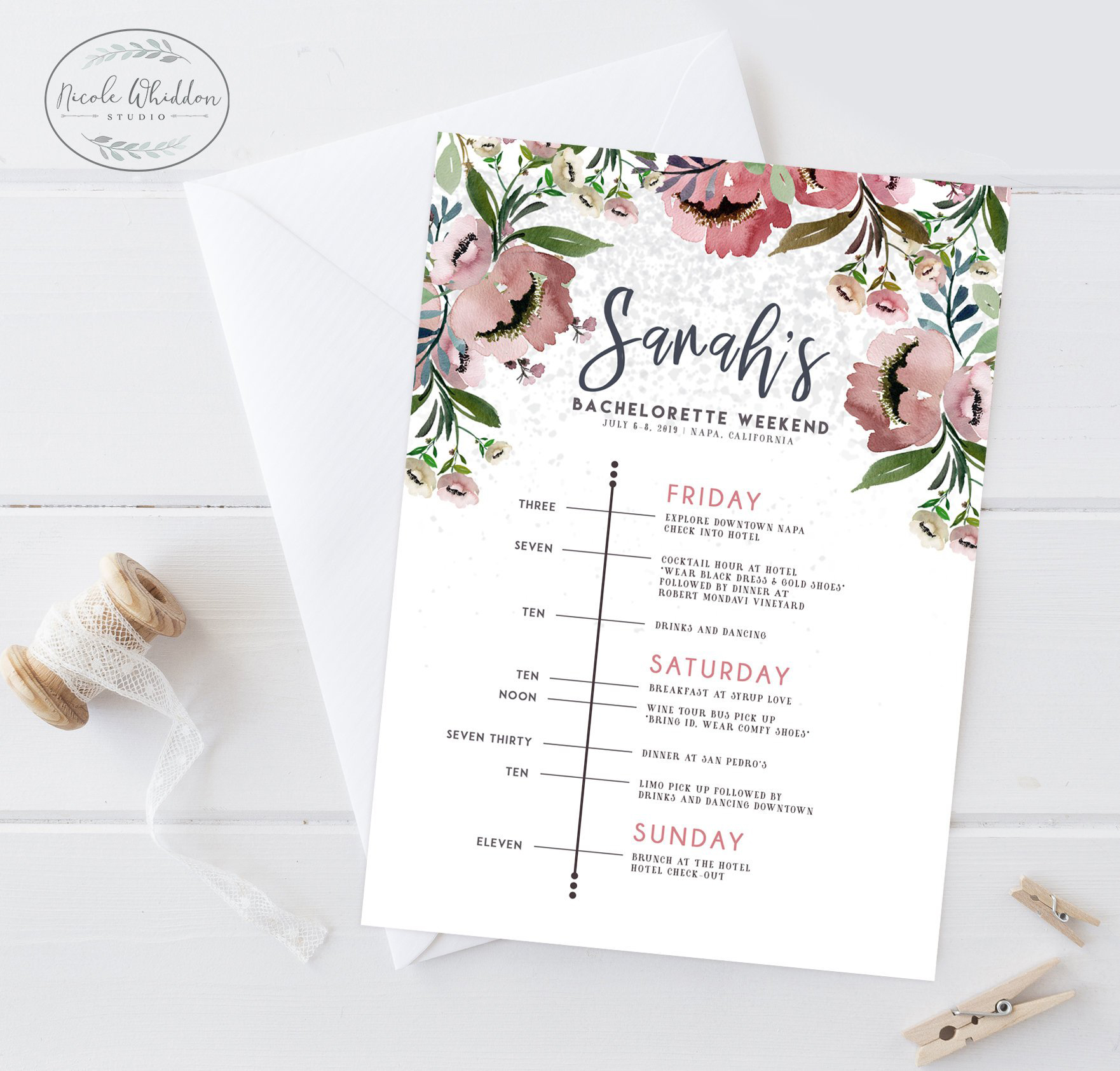 bachelorette party invites etsy timeline