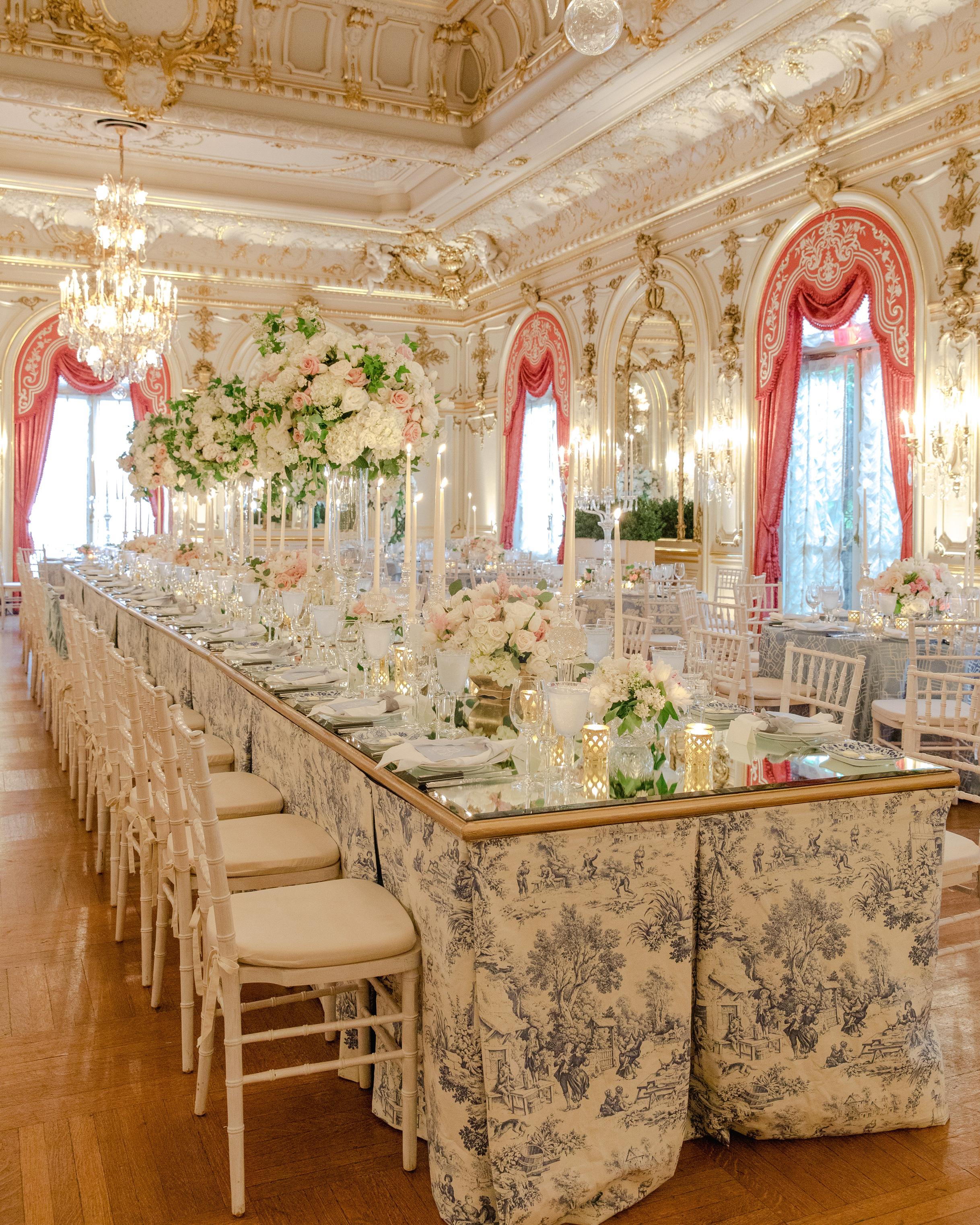 washington dc wedding ballroom table