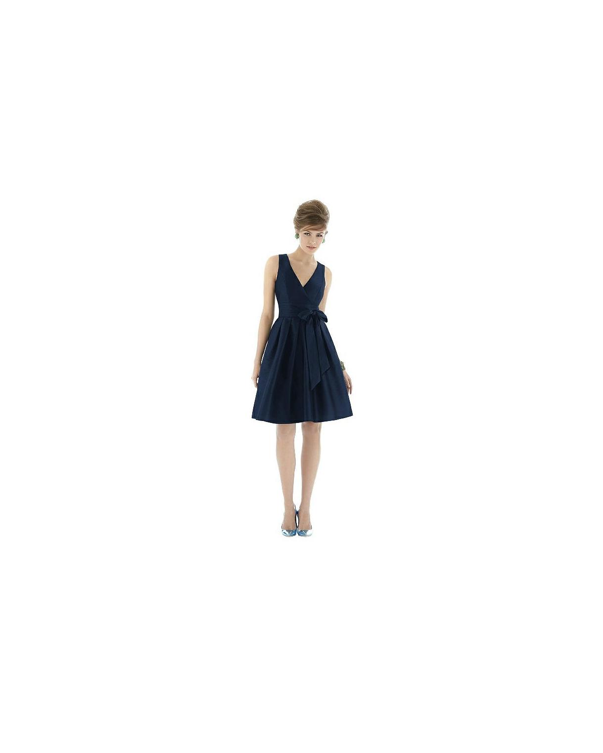 short bridesmaid dresses alfred sung