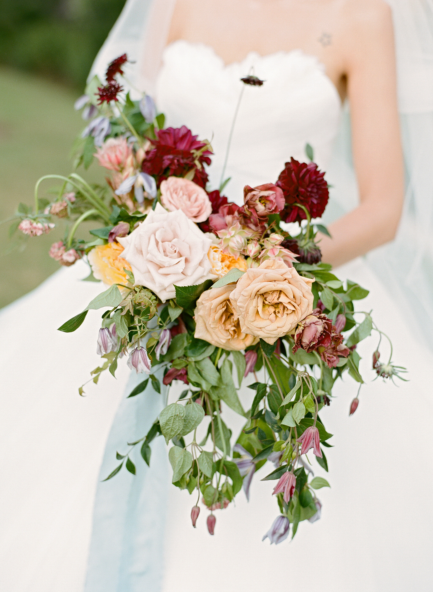 ivana nevin wedding bridal bouquet