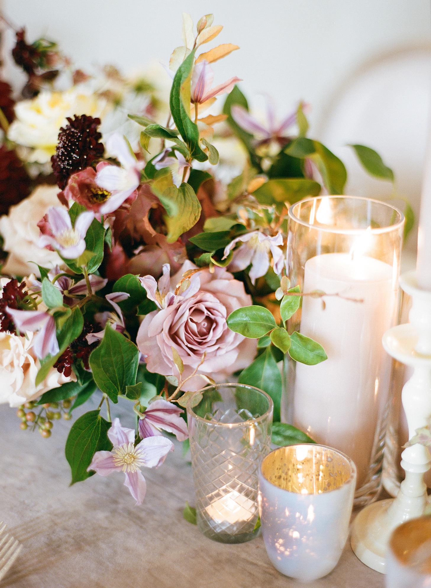 ivana nevin wedding centerpiece detail